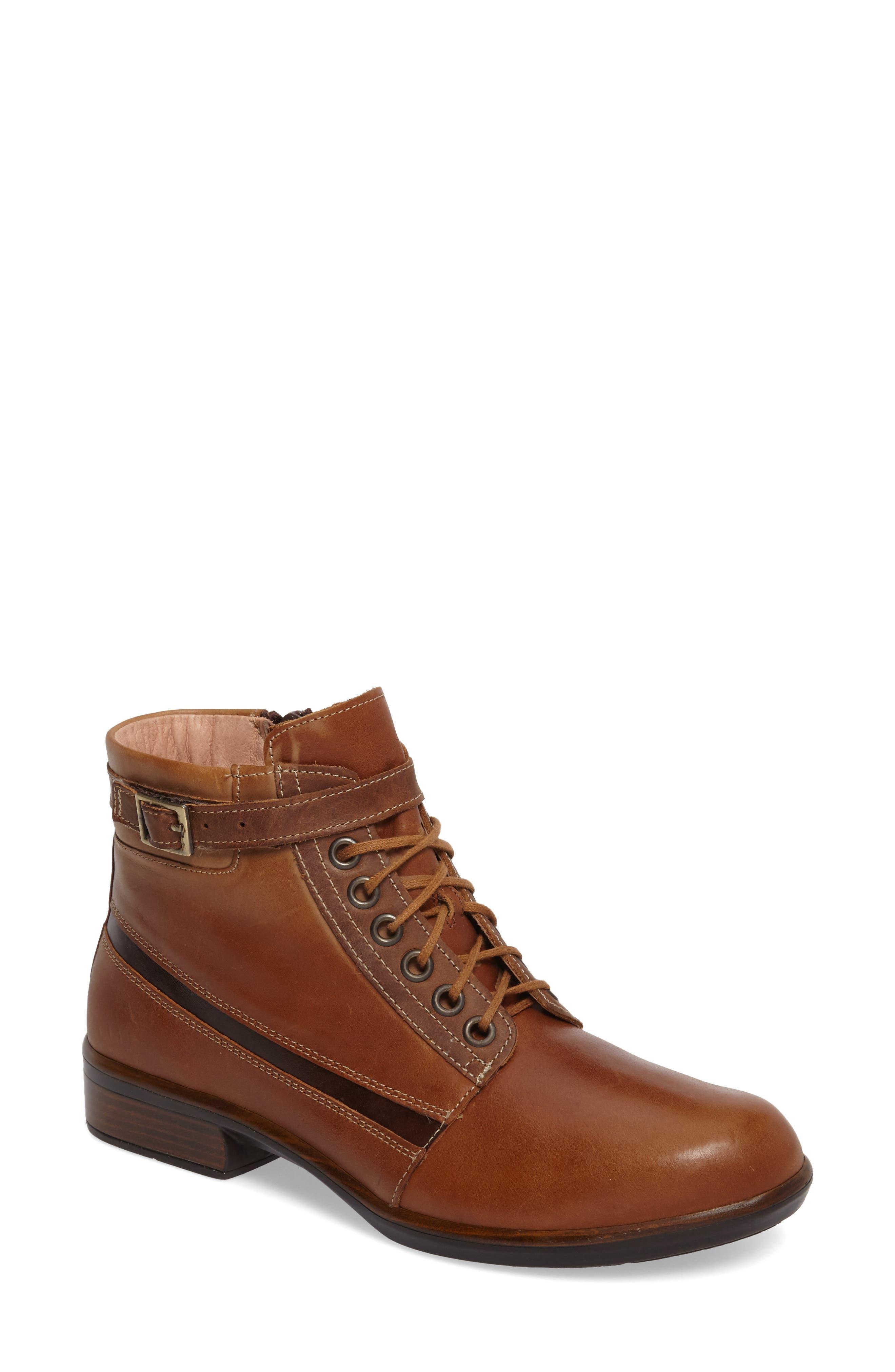 Kona Boot,                         Main,                         color, Vintage Camel Leather