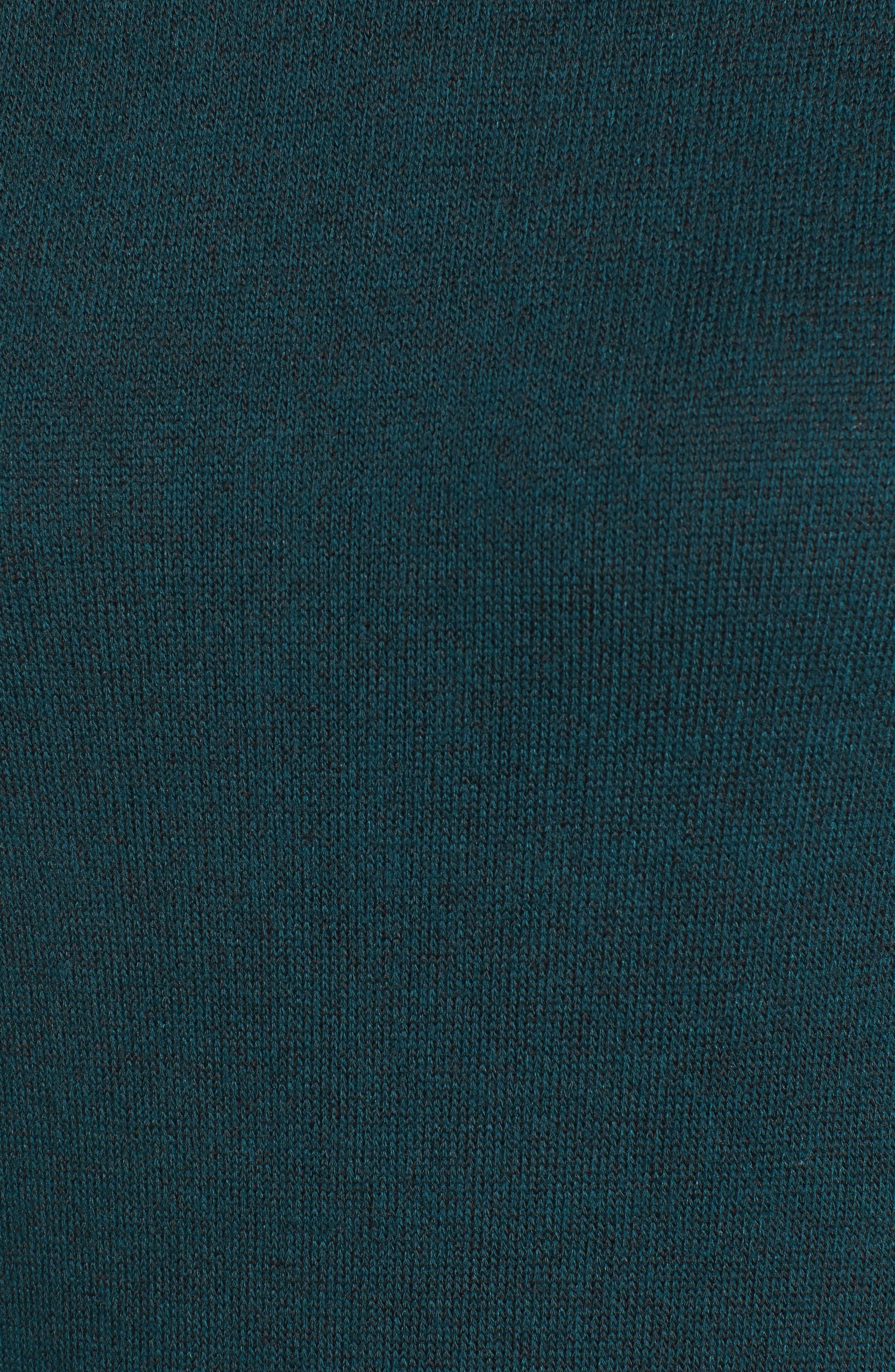 Alternate Image 5  - Halogen® Ruffle Hem Turtleneck Dress