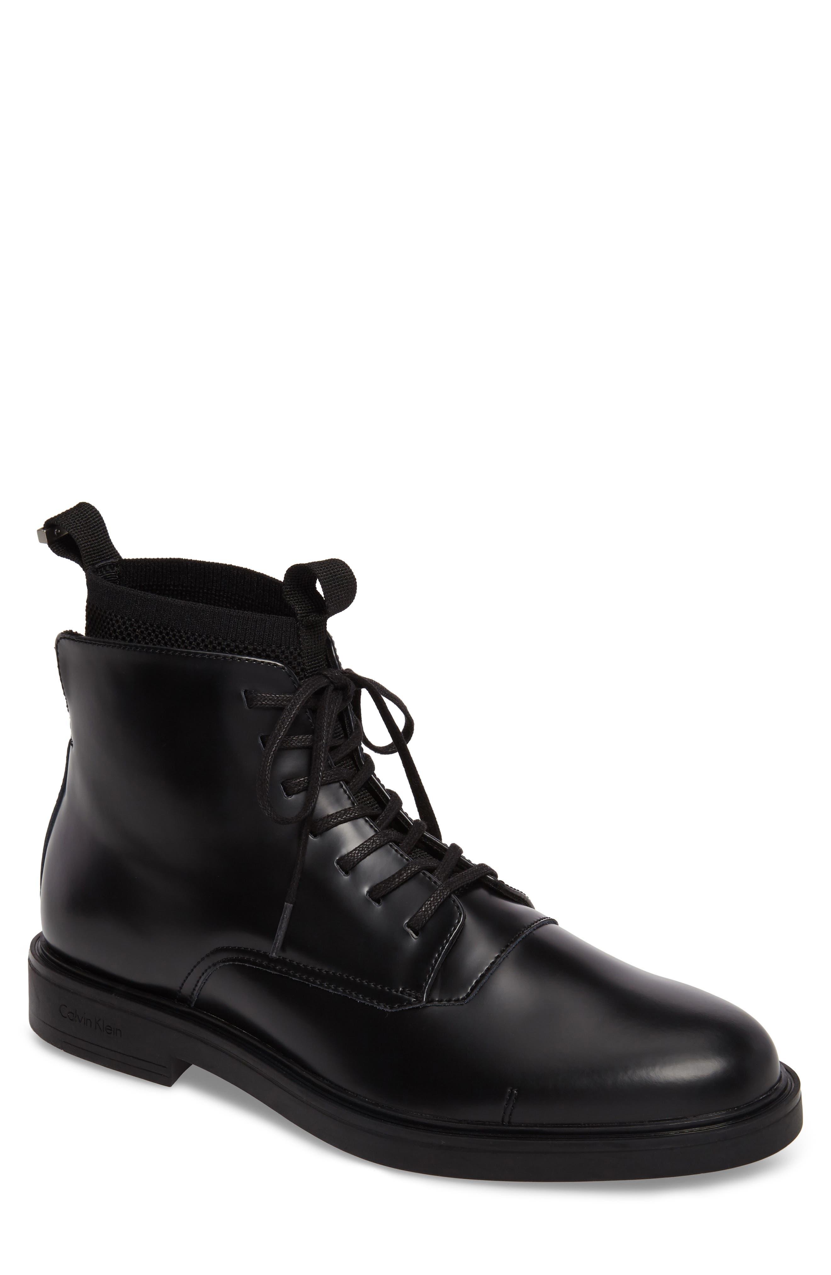 Calvin Klein Devlin Plain Toe Boot (Men)