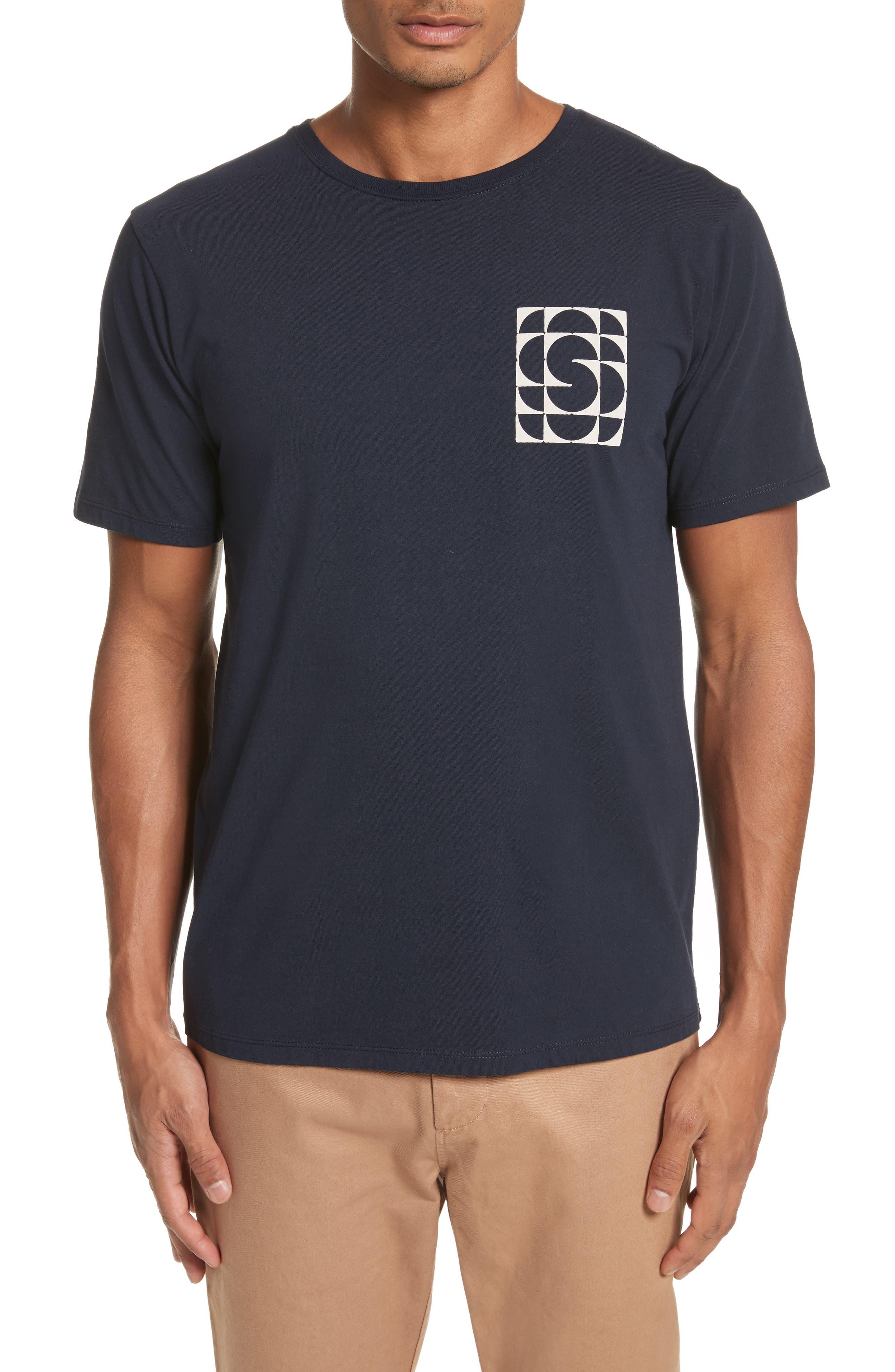 Kaleidoscope Graphic T-Shirt,                         Main,                         color, Midnight