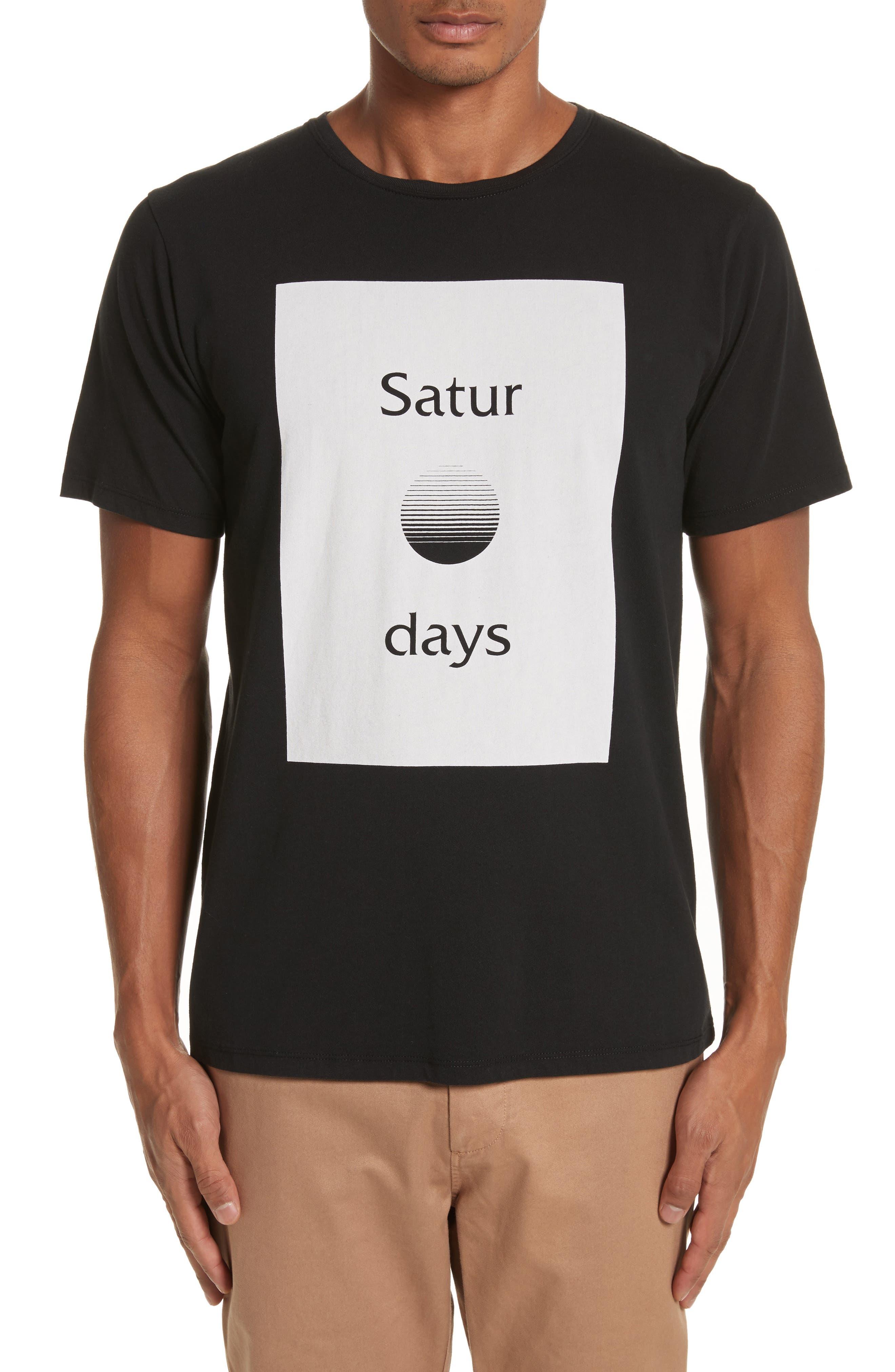 Saturdays NYC Sunset Graphic T-Shirt