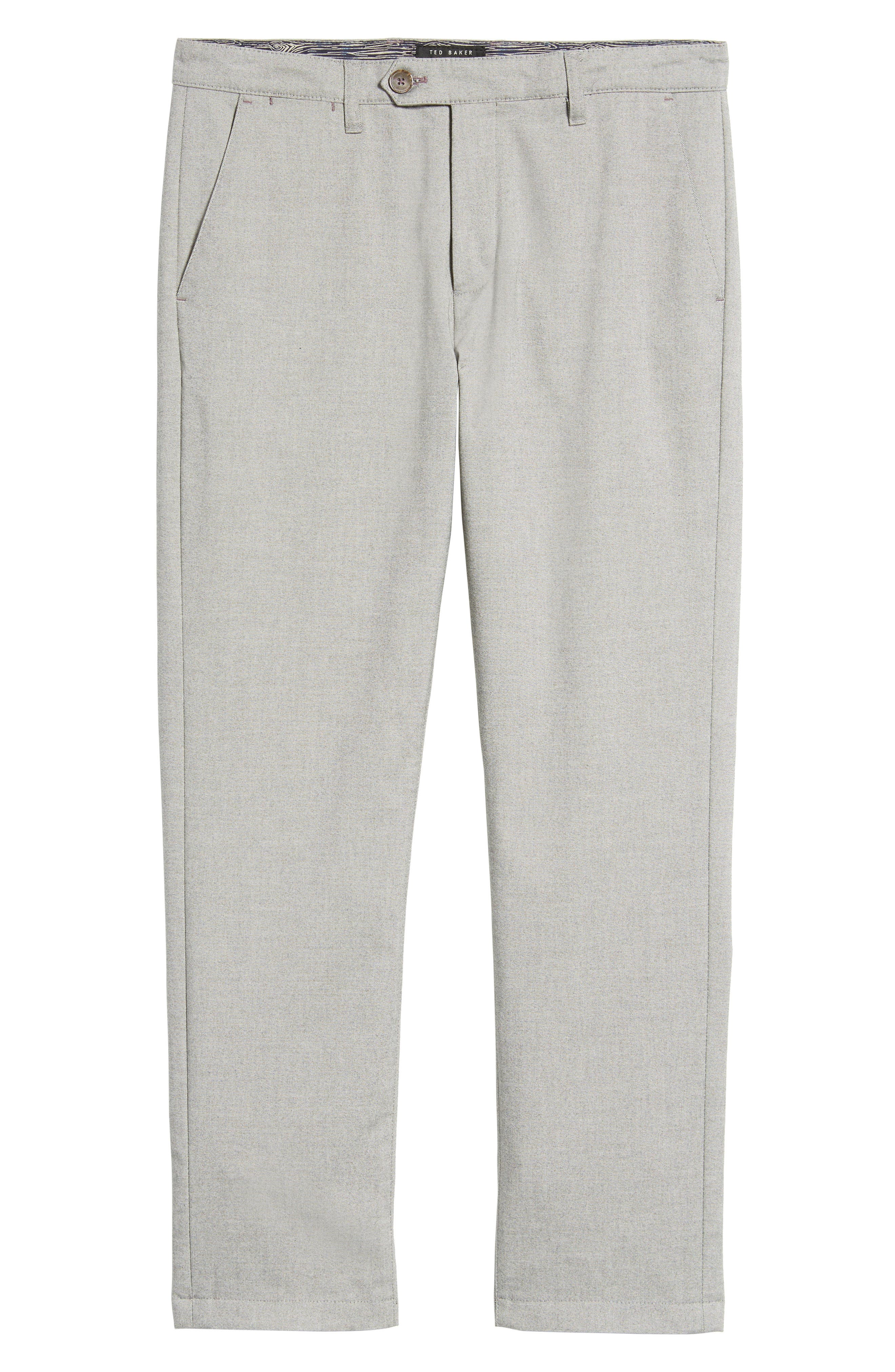 Alternate Image 5  - Ted Baker London Modern Slim Fit Trousers (Tall)