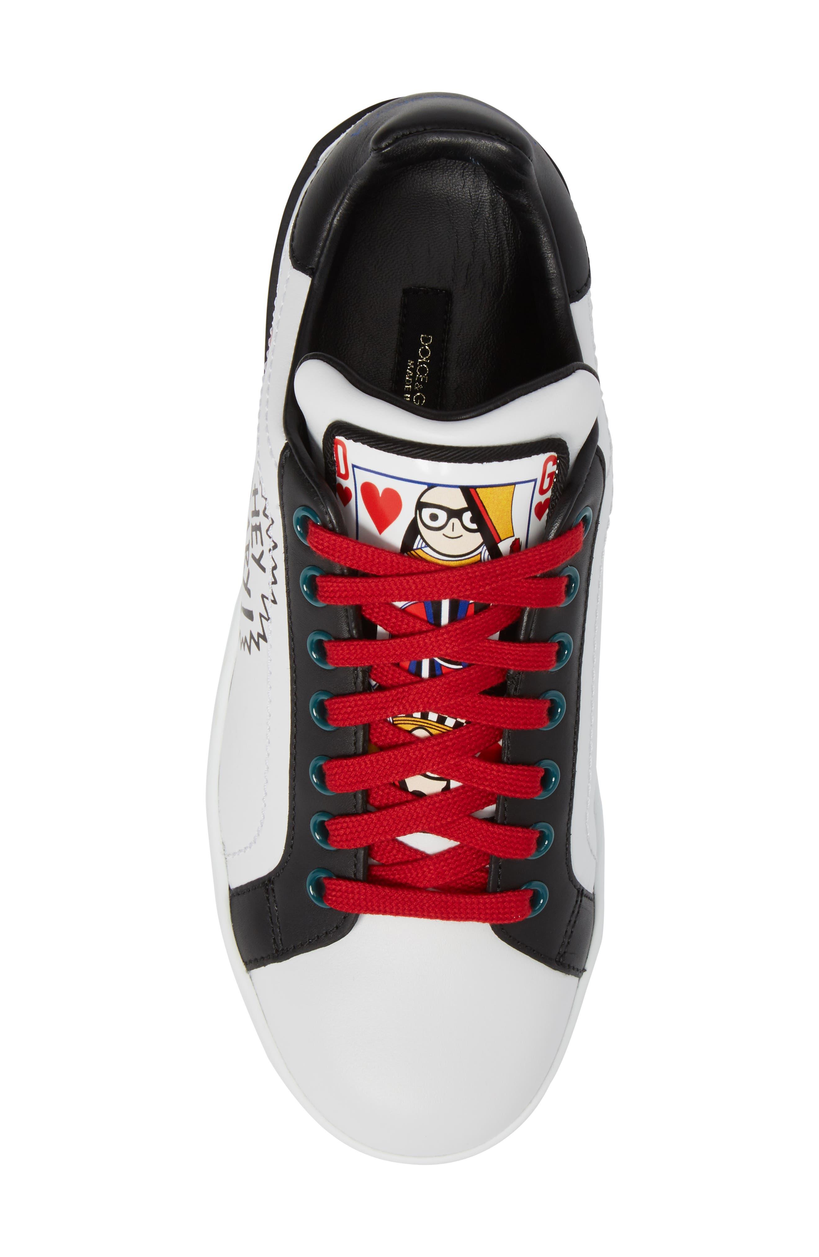 Alternate Image 4  - Dolce&Gabbana Cartoon Sneaker (Women)