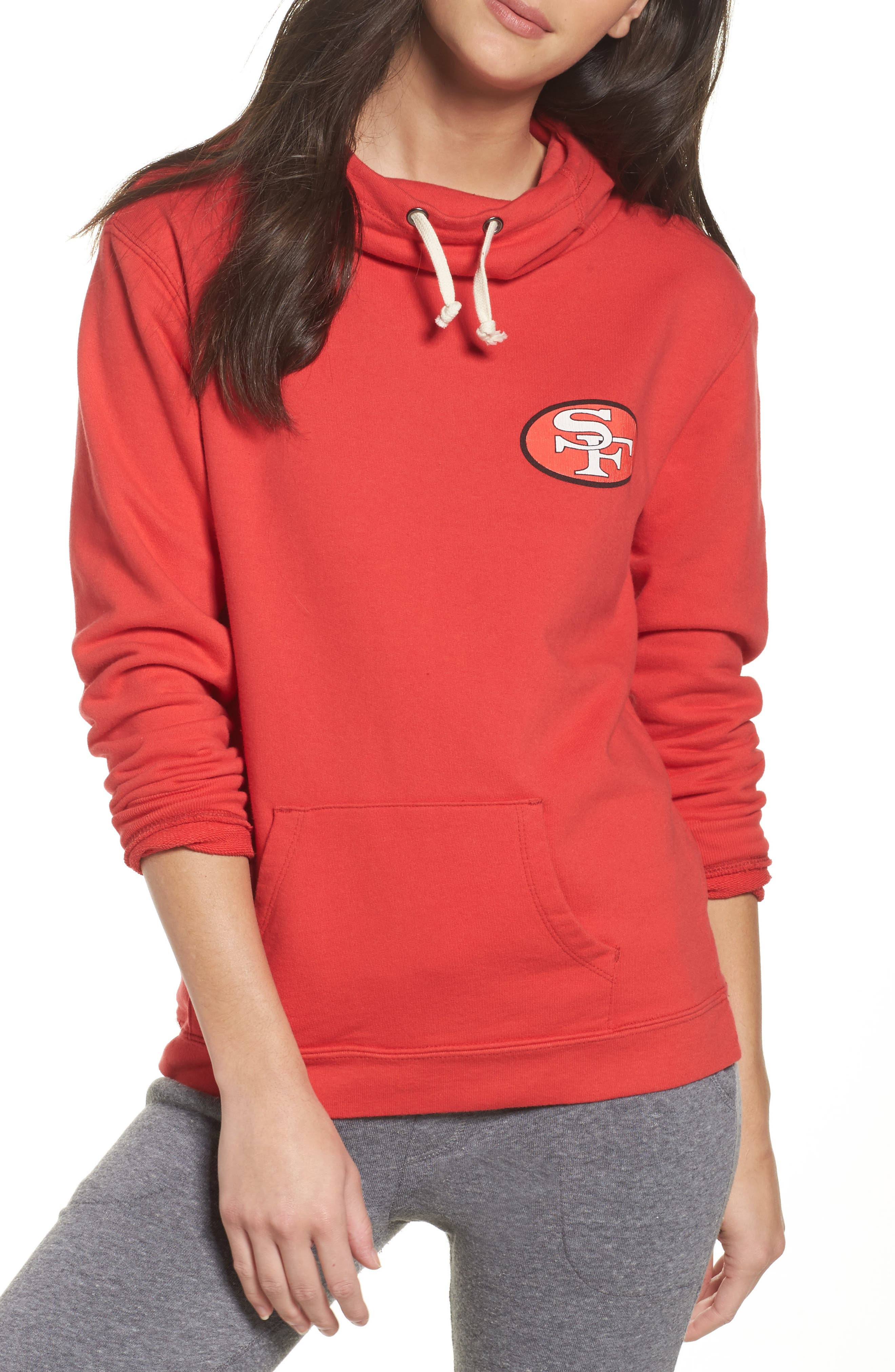 NFL San Francisco 49ers Sunday Hoodie,                         Main,                         color, Licorice