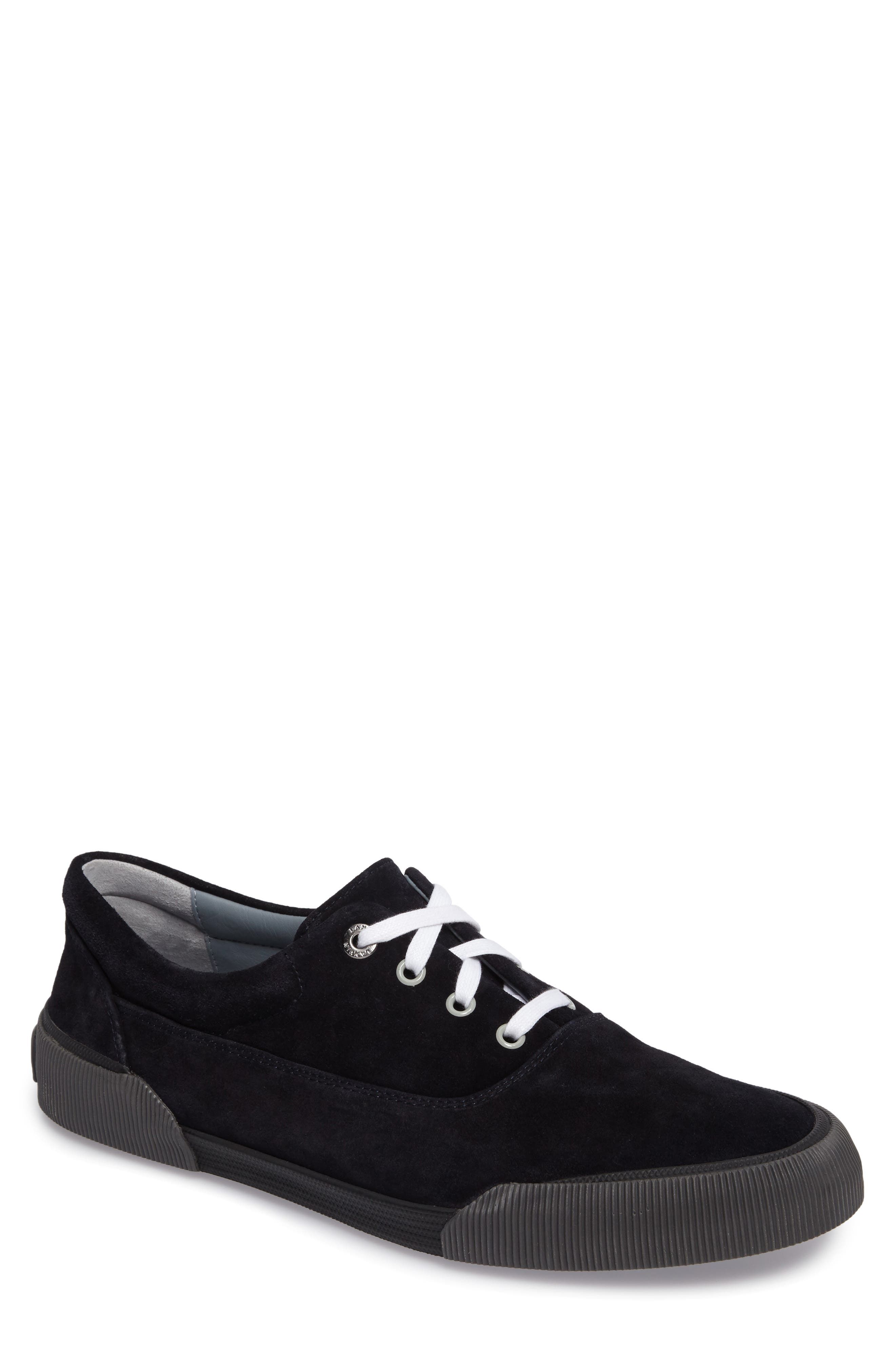 Alternate Image 1 Selected - Lanvin Suede Sneaker (Men)