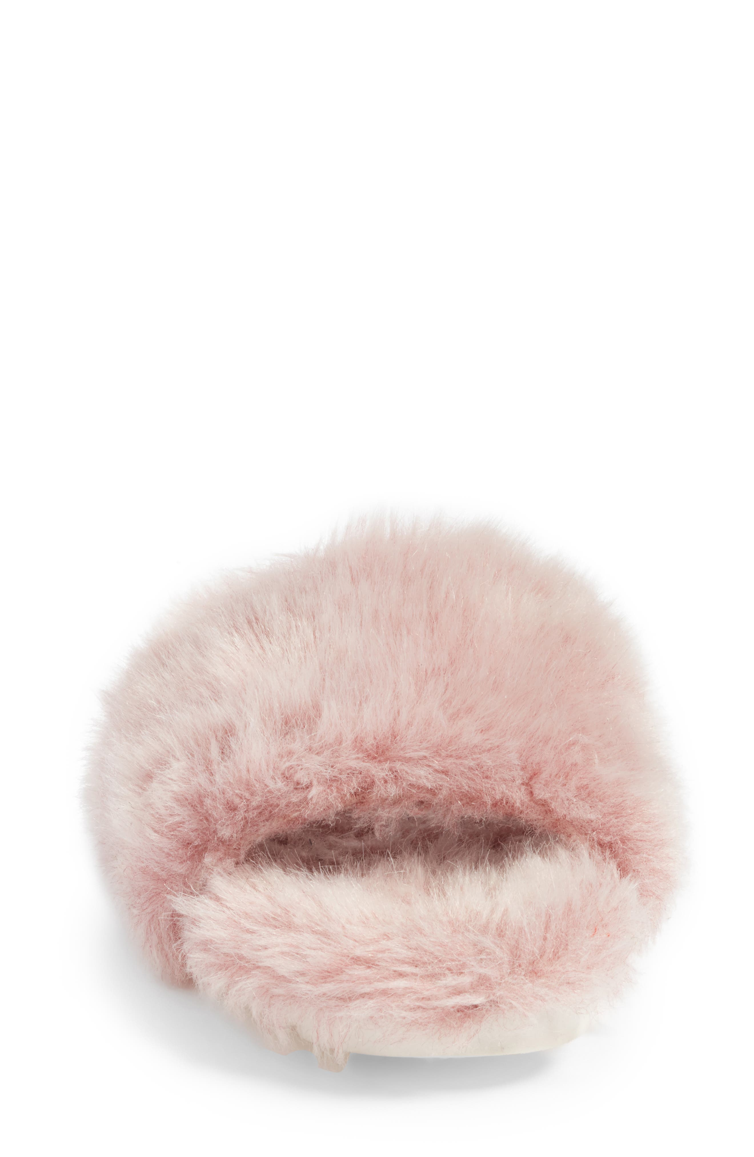 Alternate Image 4  - Joshua Sanders Faux Fur Slide Sandal (Women)