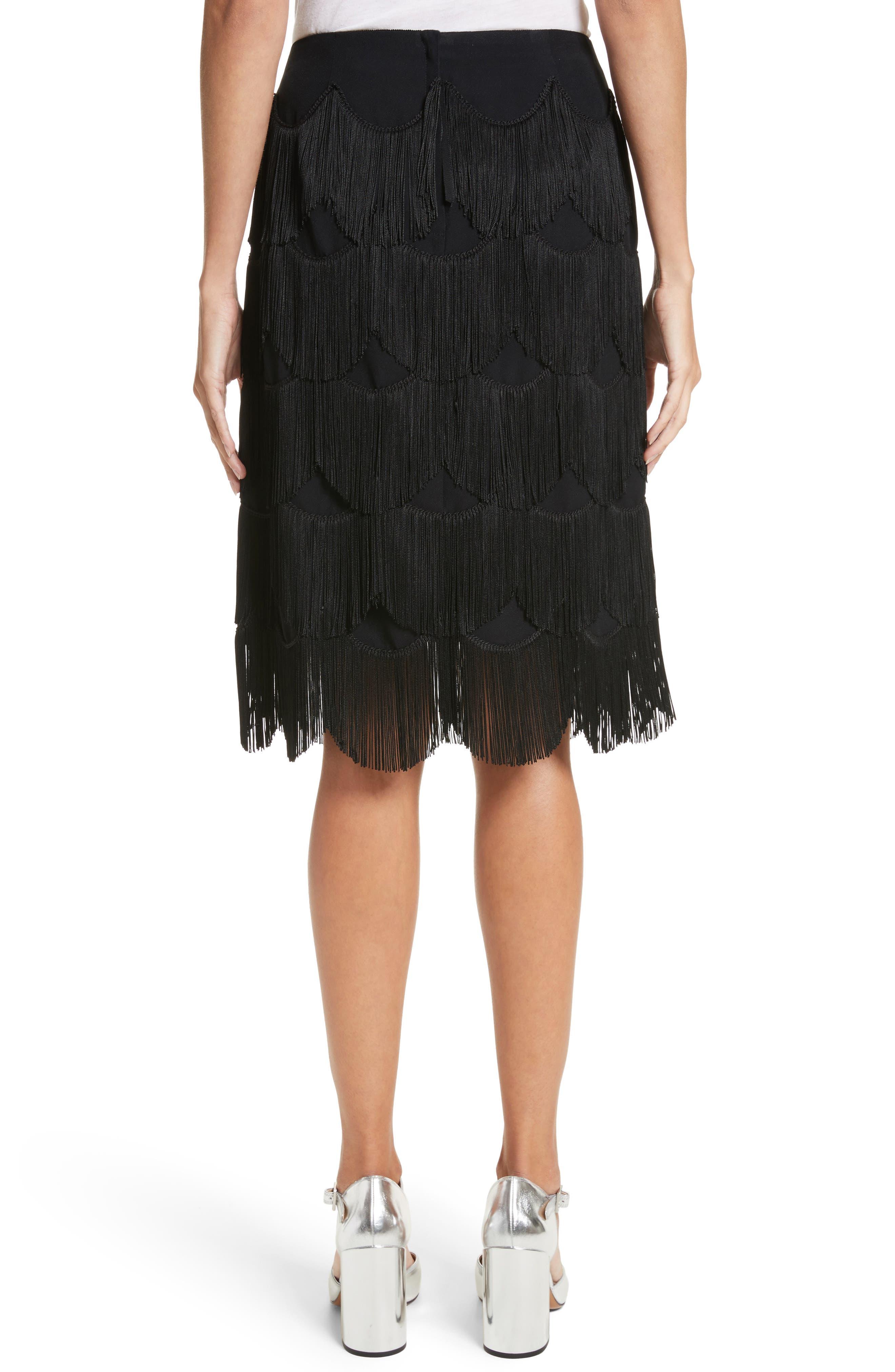 Alternate Image 2  - MARC JACOBS Fringe Skirt