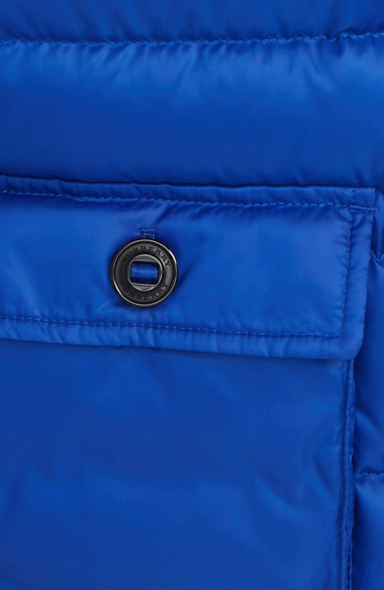 Alternate Image 2  - Burberry Mini Lachlan Hooded Down Jacket (Toddler Boys)