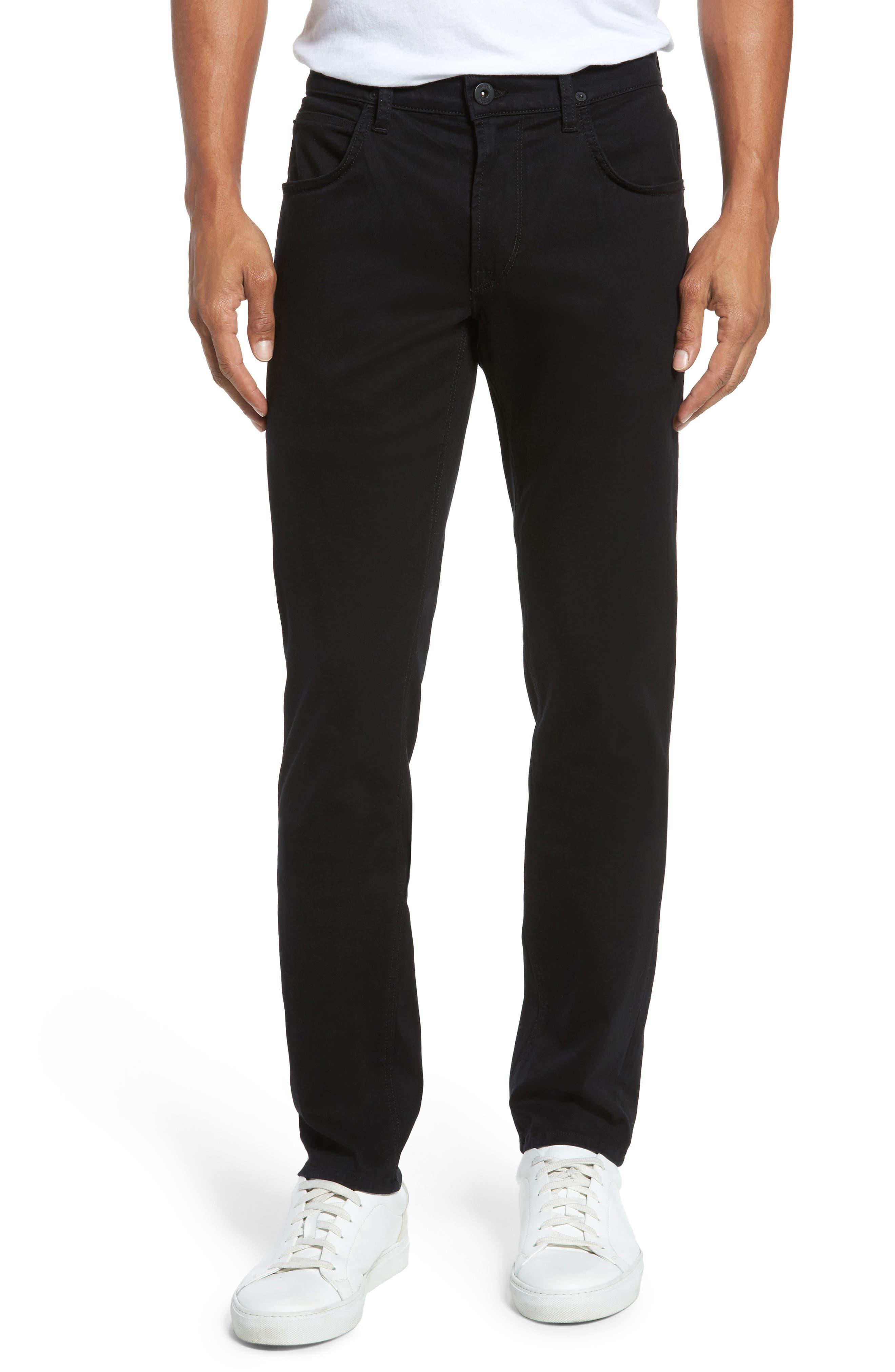 Main Image - Hudson Jeans Blake Slim Fit Jeans (Blackened)