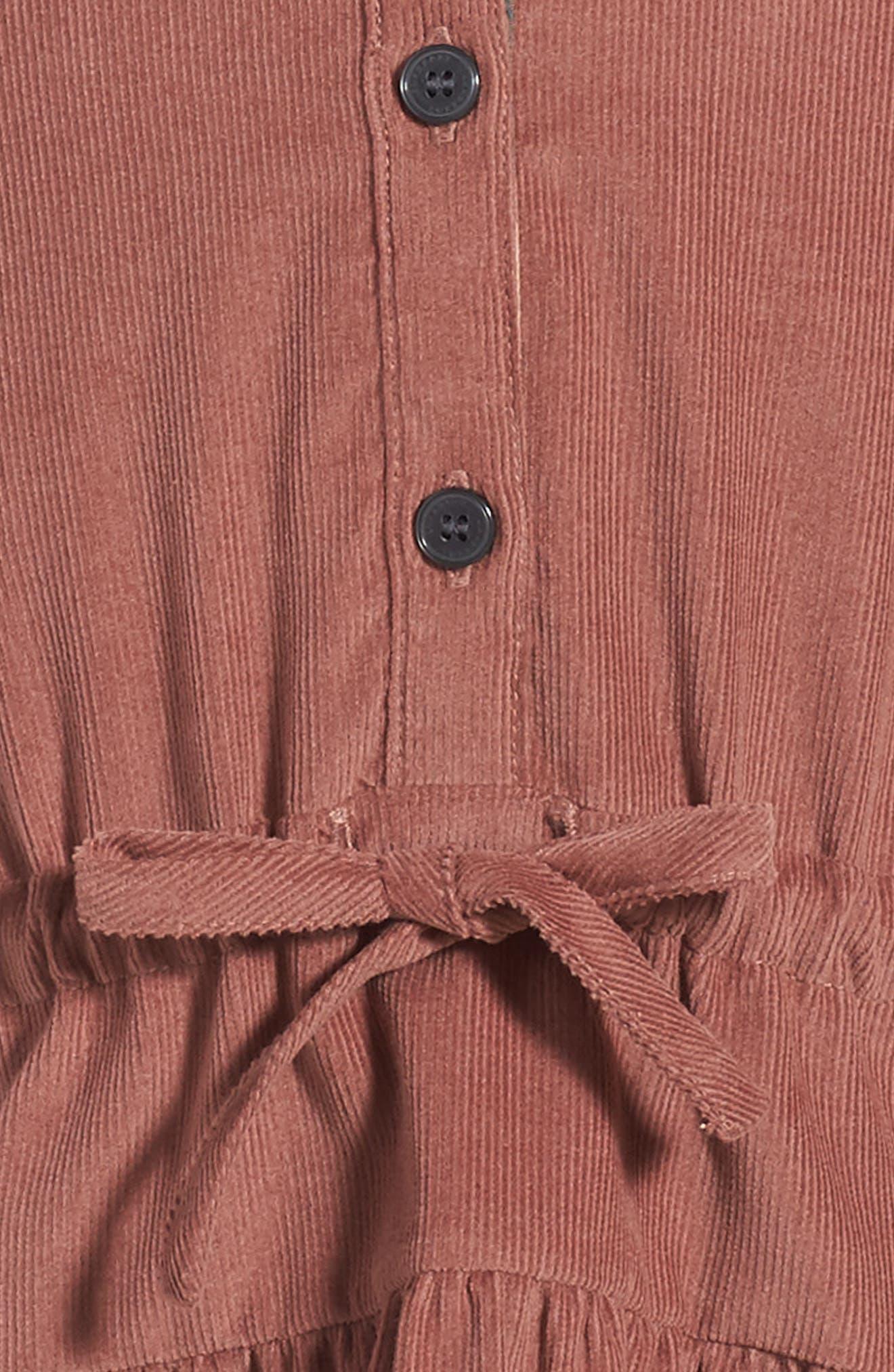 Alternate Image 3  - Burberry Mini Celestine Corduroy Dress (Toddler Girls)
