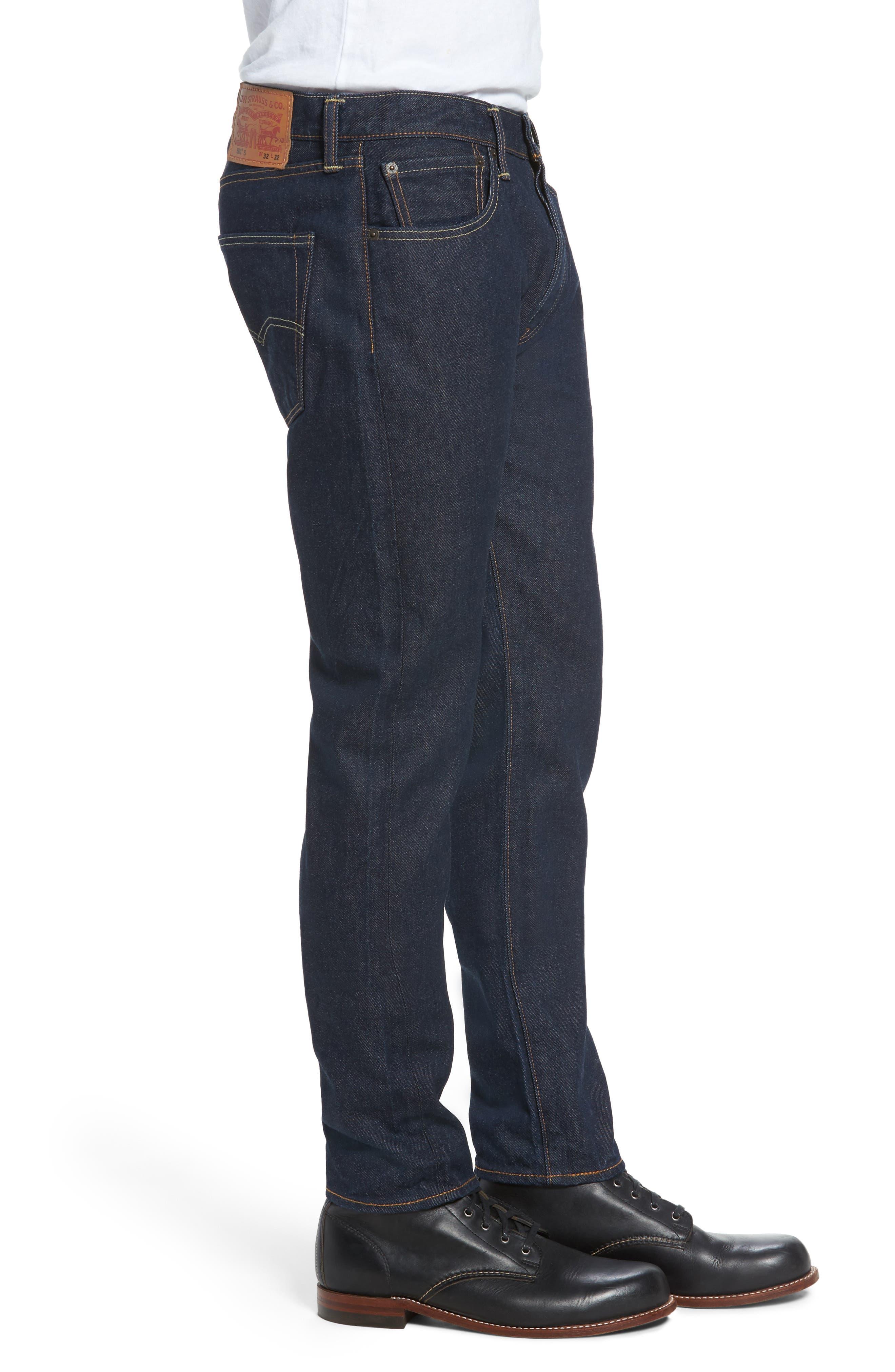 501<sup>™</sup> Skinny Leg Jeans,                             Alternate thumbnail 3, color,                             Noten