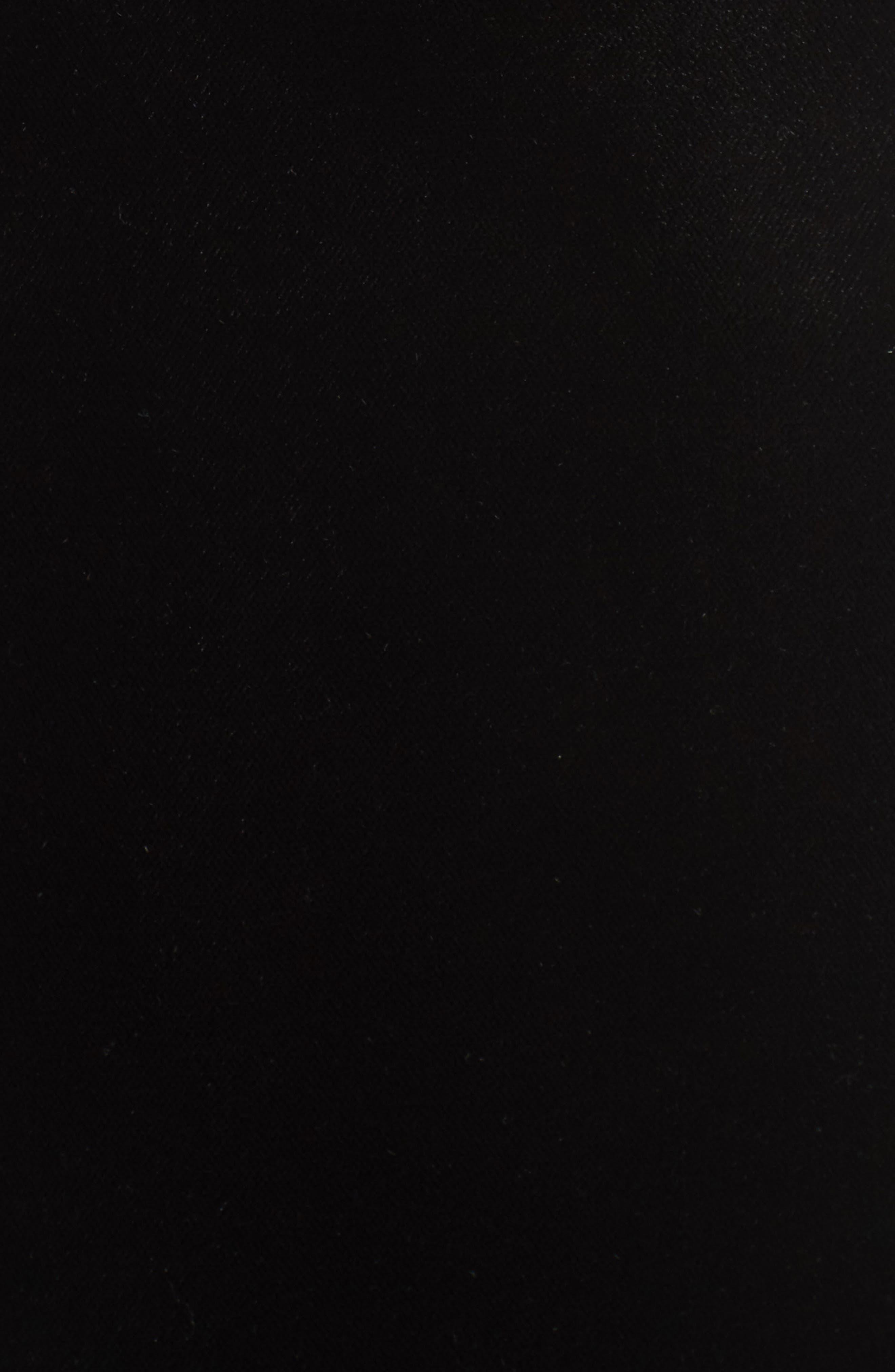 Alternate Image 6  - Topshop Velvet Minidress