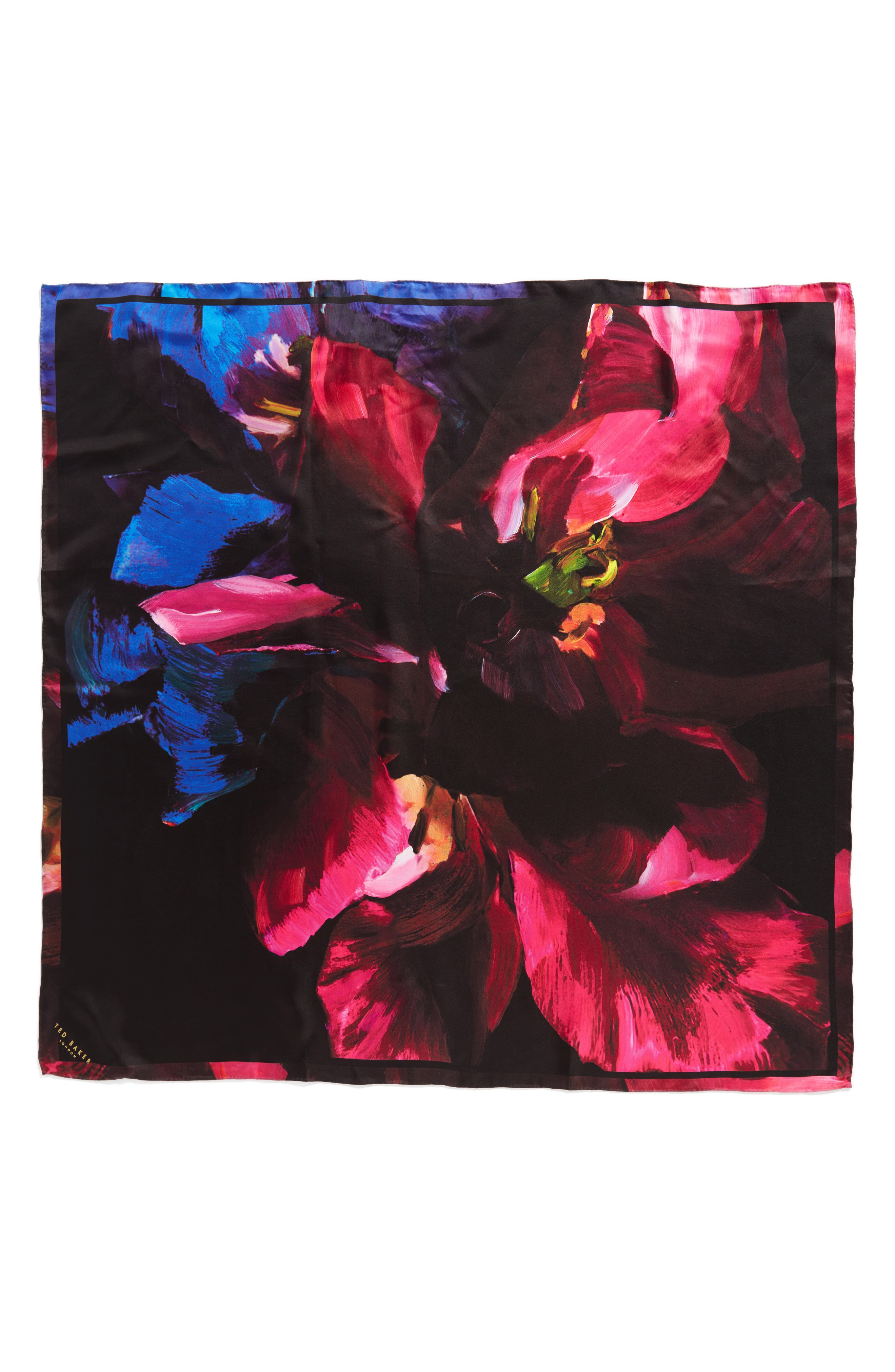 Alternate Image 2  - Ted Baker London Impressionist Bloom Square Silk Scarf