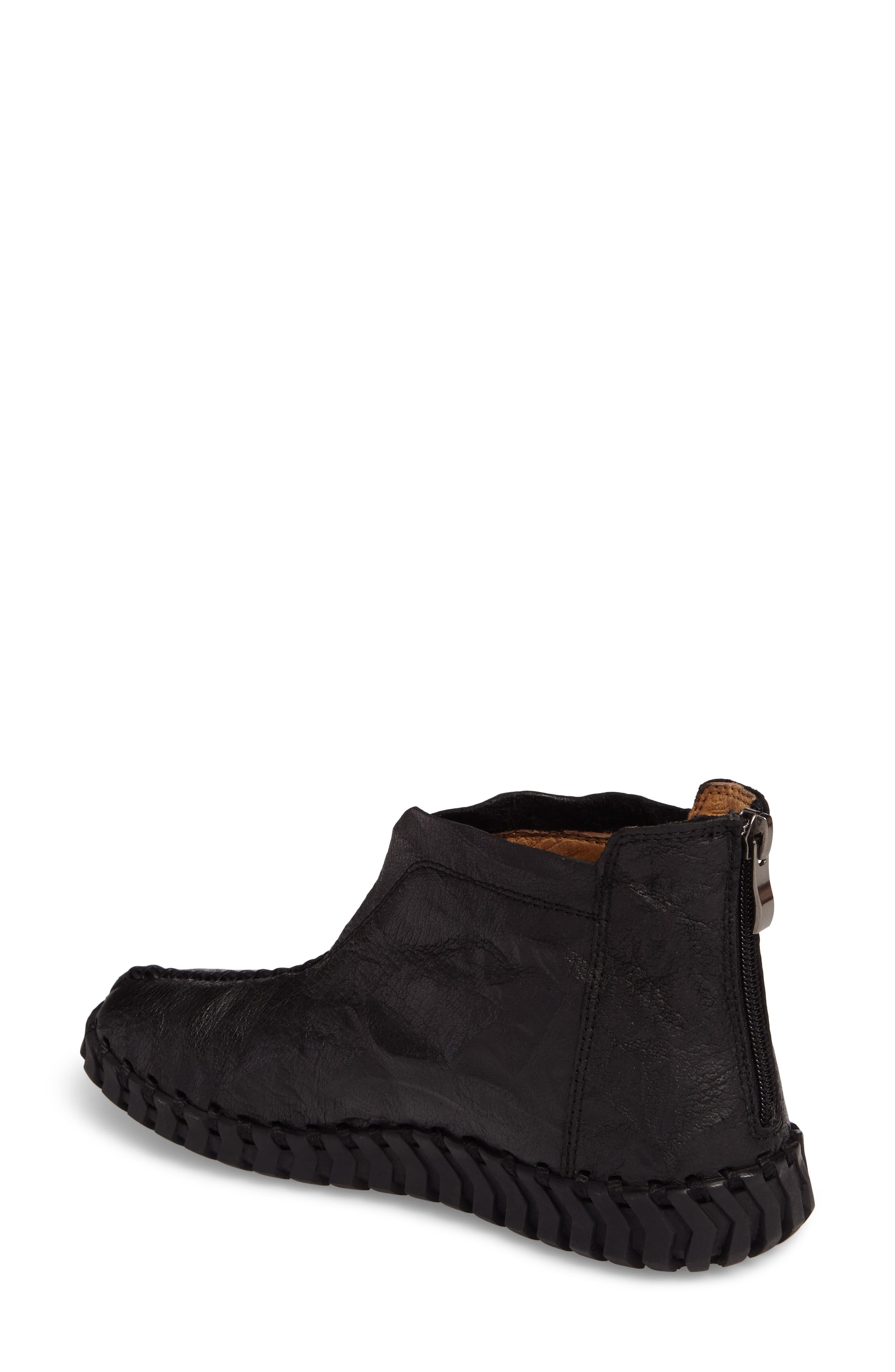 TW79 Bootie,                             Alternate thumbnail 2, color,                             Black Leather