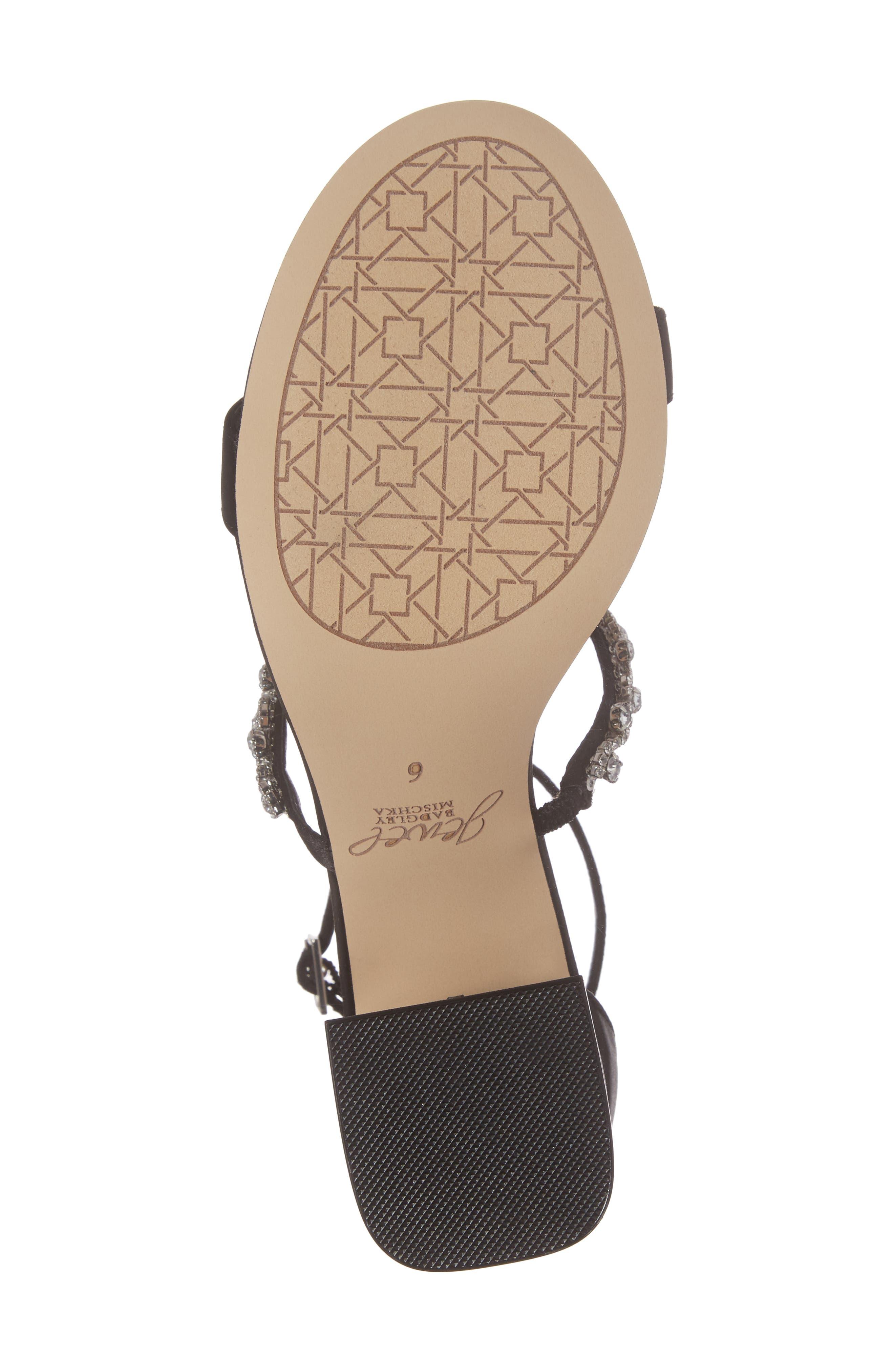 Alternate Image 6  - Jewel Badgley Mischka Alamea Block Heel Sandal (Women)