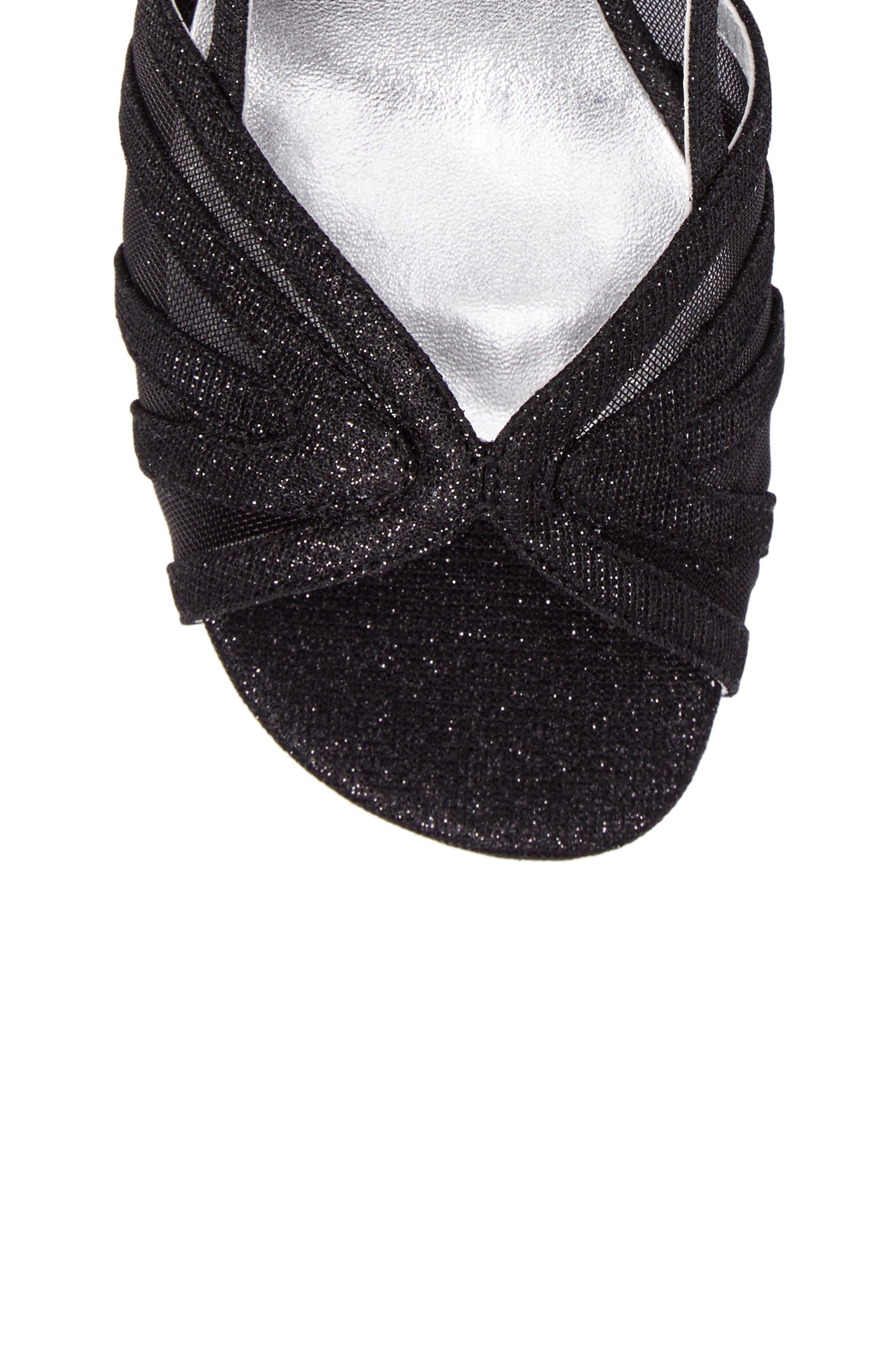 Ritz Slingback Sandal,                             Alternate thumbnail 6, color,                             Black