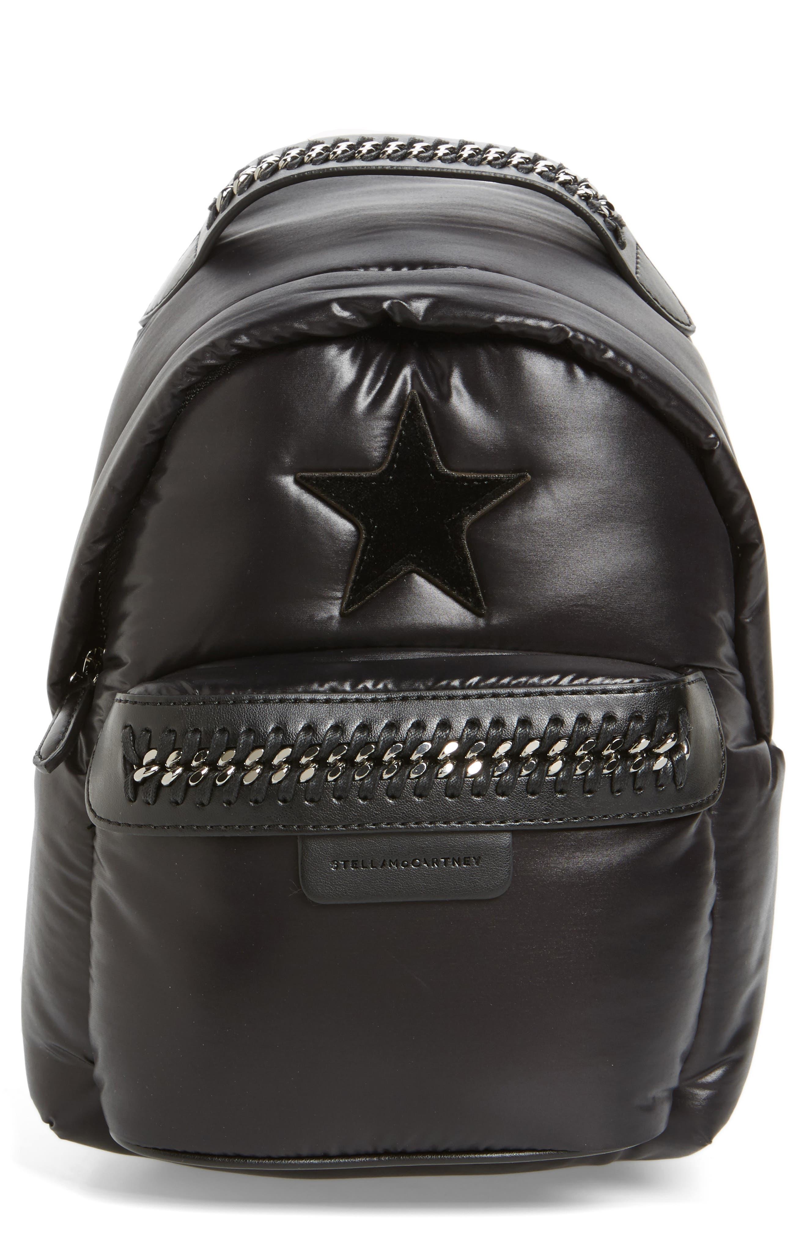 Main Image - Stella McCartney Mini Falabella Go Star Backpack