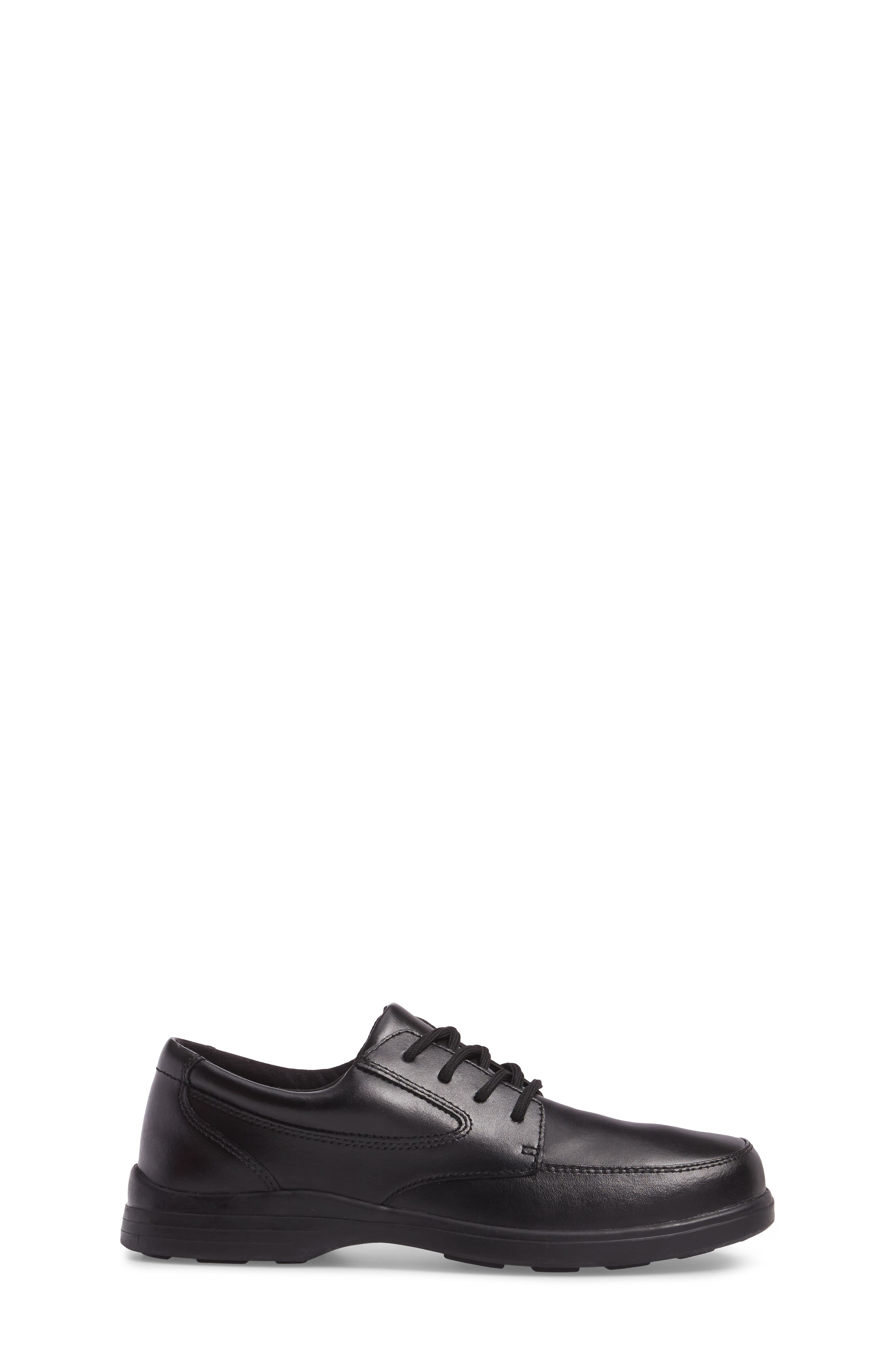 Ty Dress Shoe,                             Alternate thumbnail 3, color,                             Black Leather