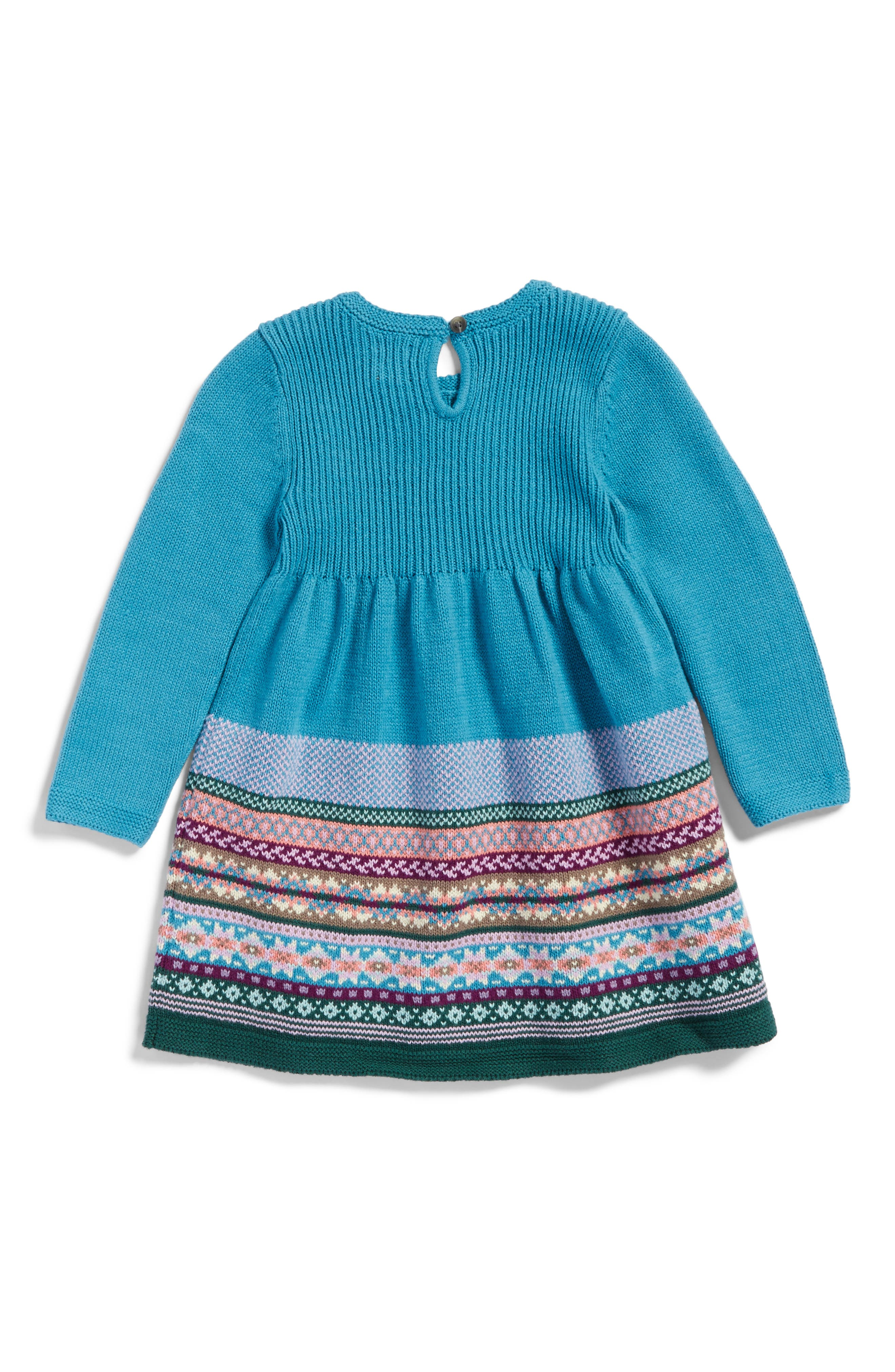 Alternate Image 2  - Tea Collection Suzette Sweater Dress (Baby Girls)