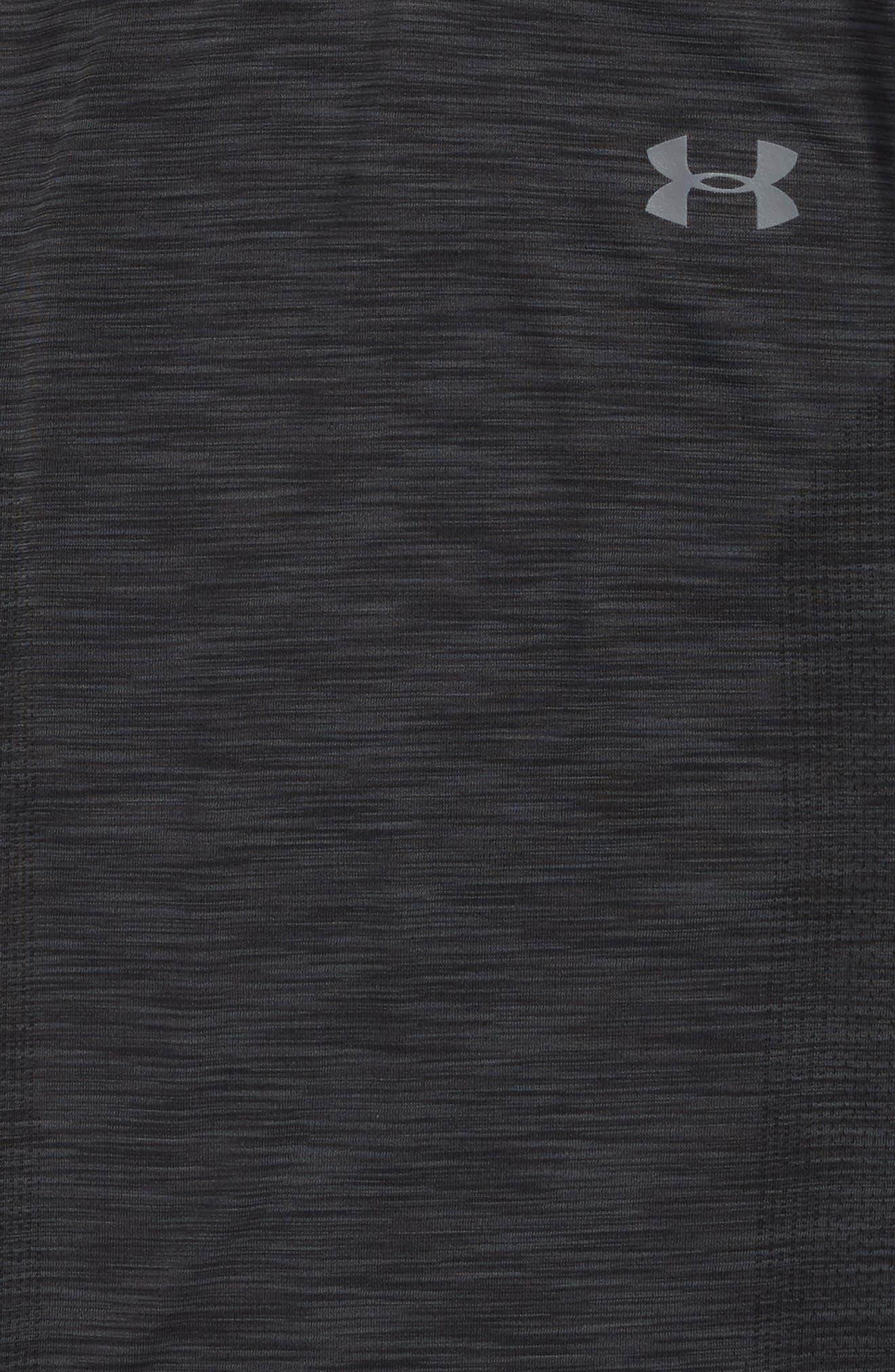 Alternate Image 2  - Under Armour Threadborne HeatGear® Shirt (Little Boys & Big Boys)