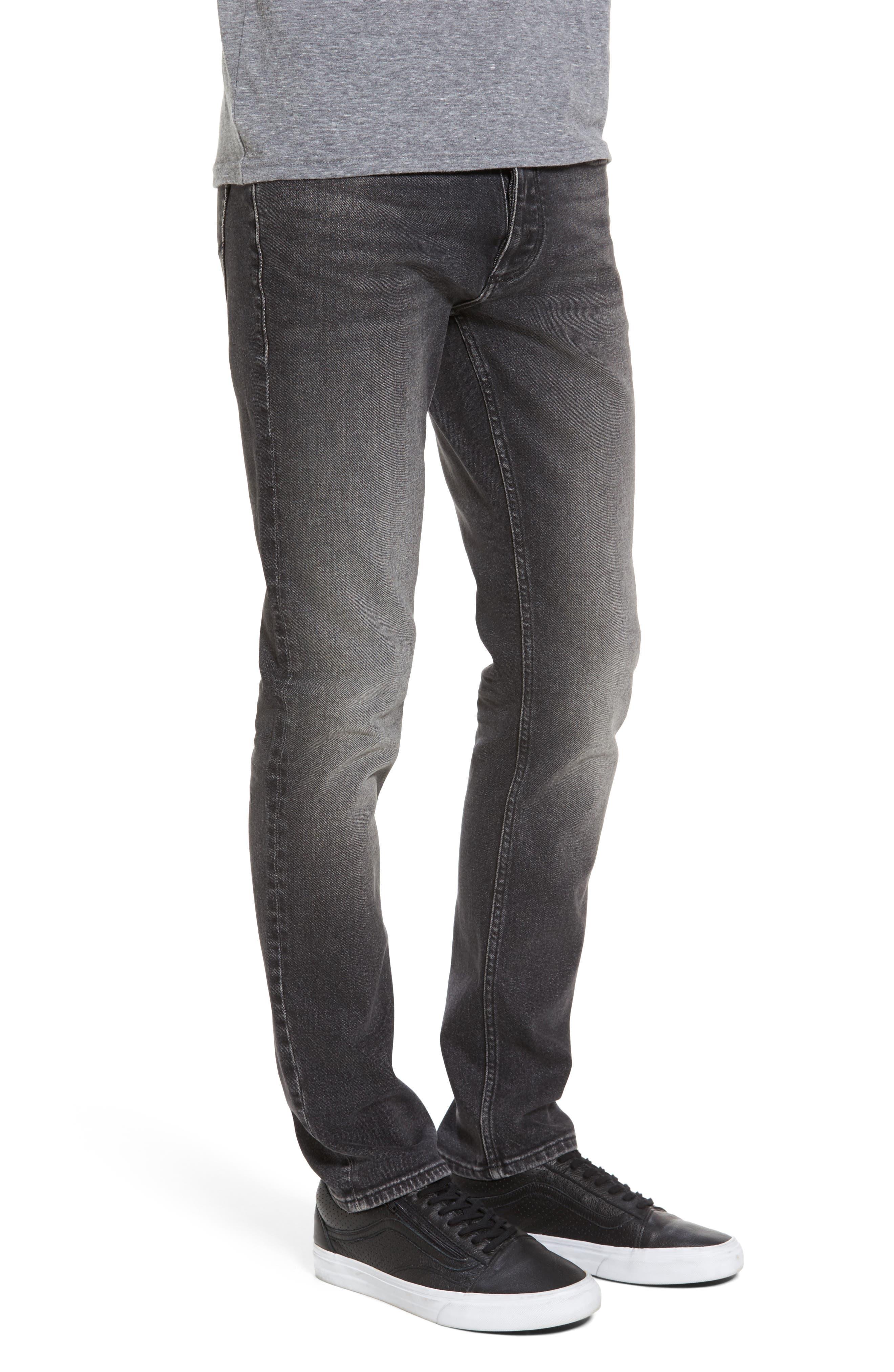 Skinny Jeans,                             Alternate thumbnail 3, color,                             Dark Stone
