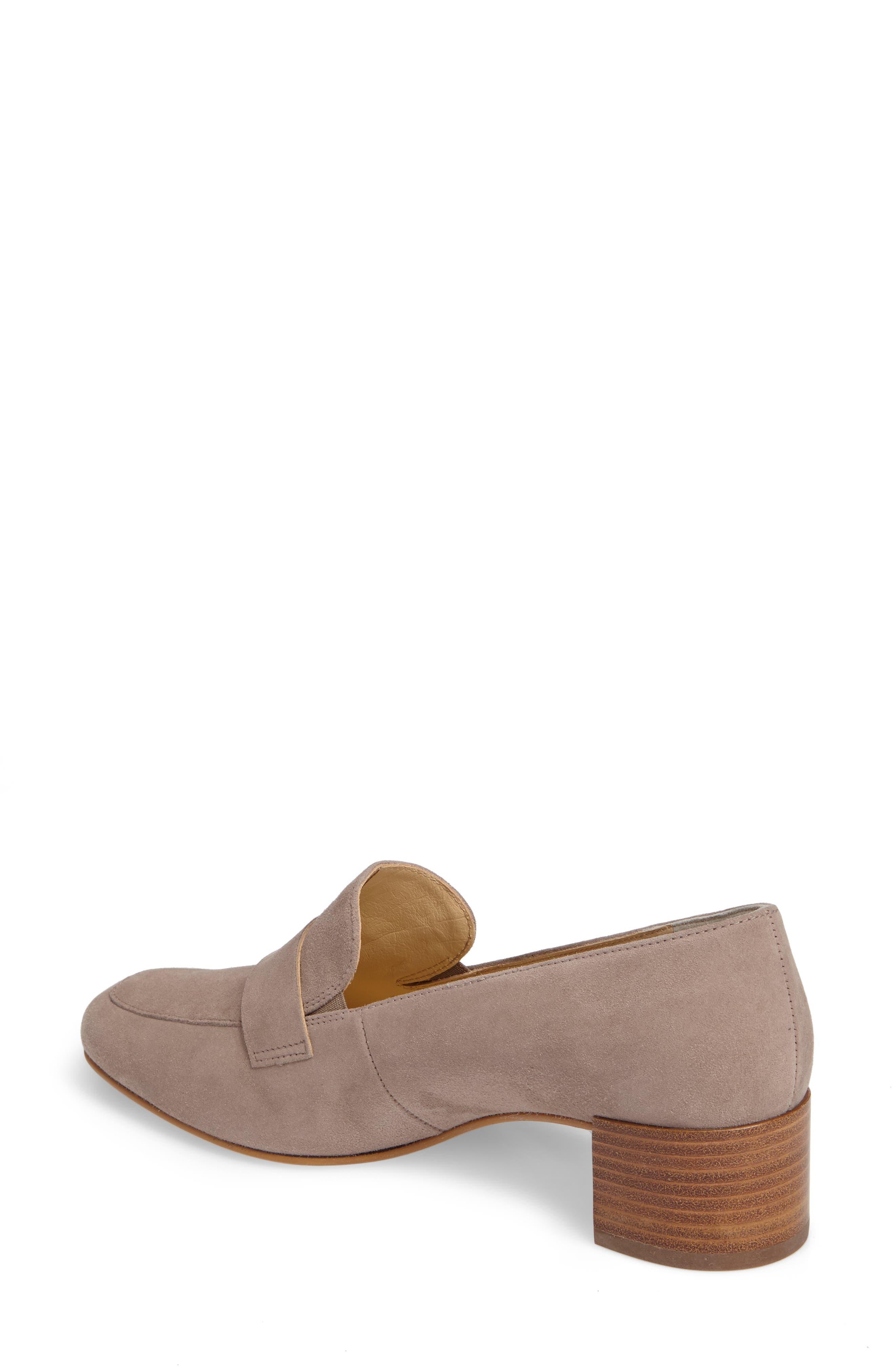 Alternate Image 2  - Paul Green Oscar Block Heel Loafer (Women)