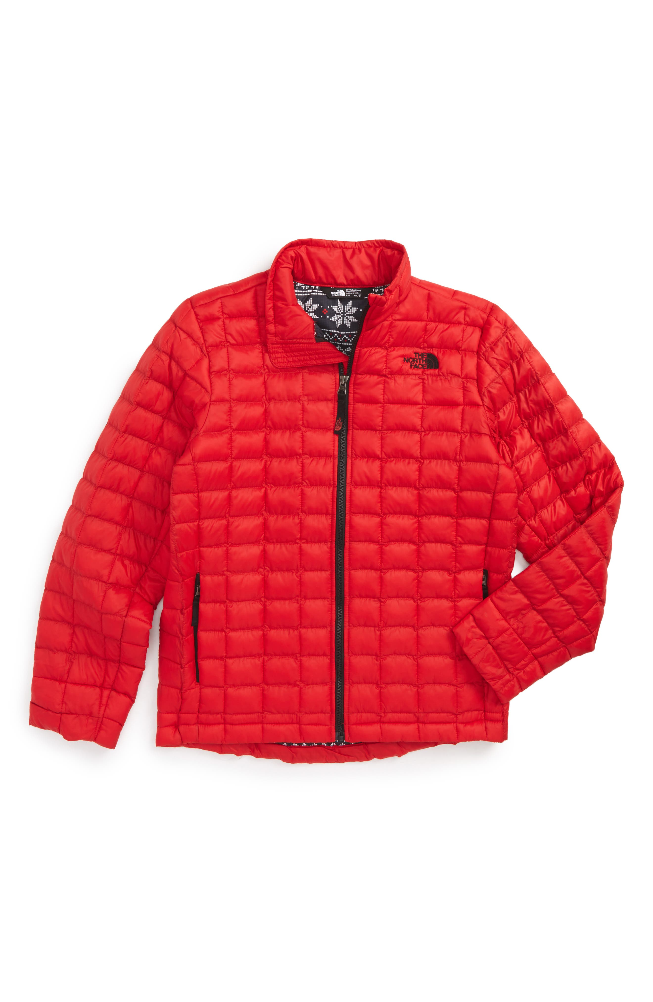 ThermoBall<sup>™</sup> PrimaLoft<sup>®</sup> Packable Jacket,                             Main thumbnail 1, color,                             Tnf Red