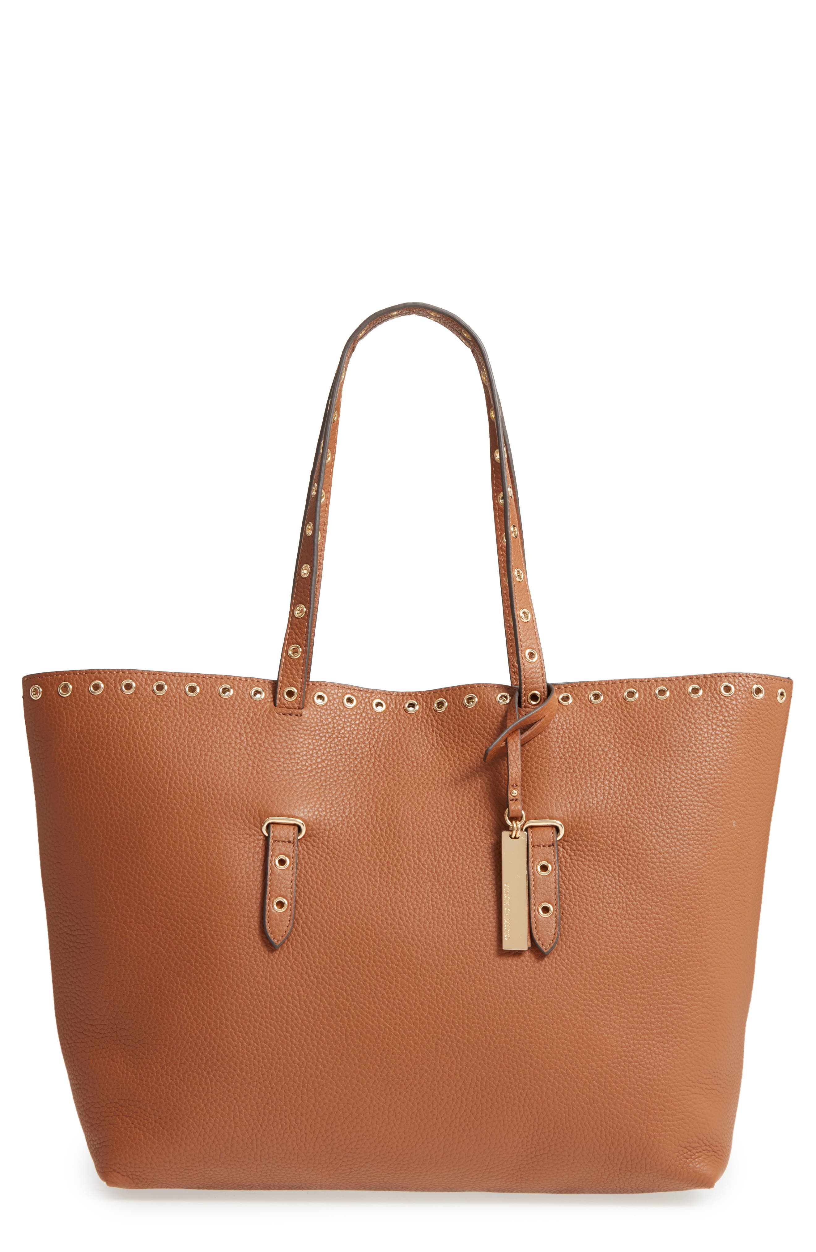 Alternate Image 1 Selected - Vince Camuto Areli Leather Tote