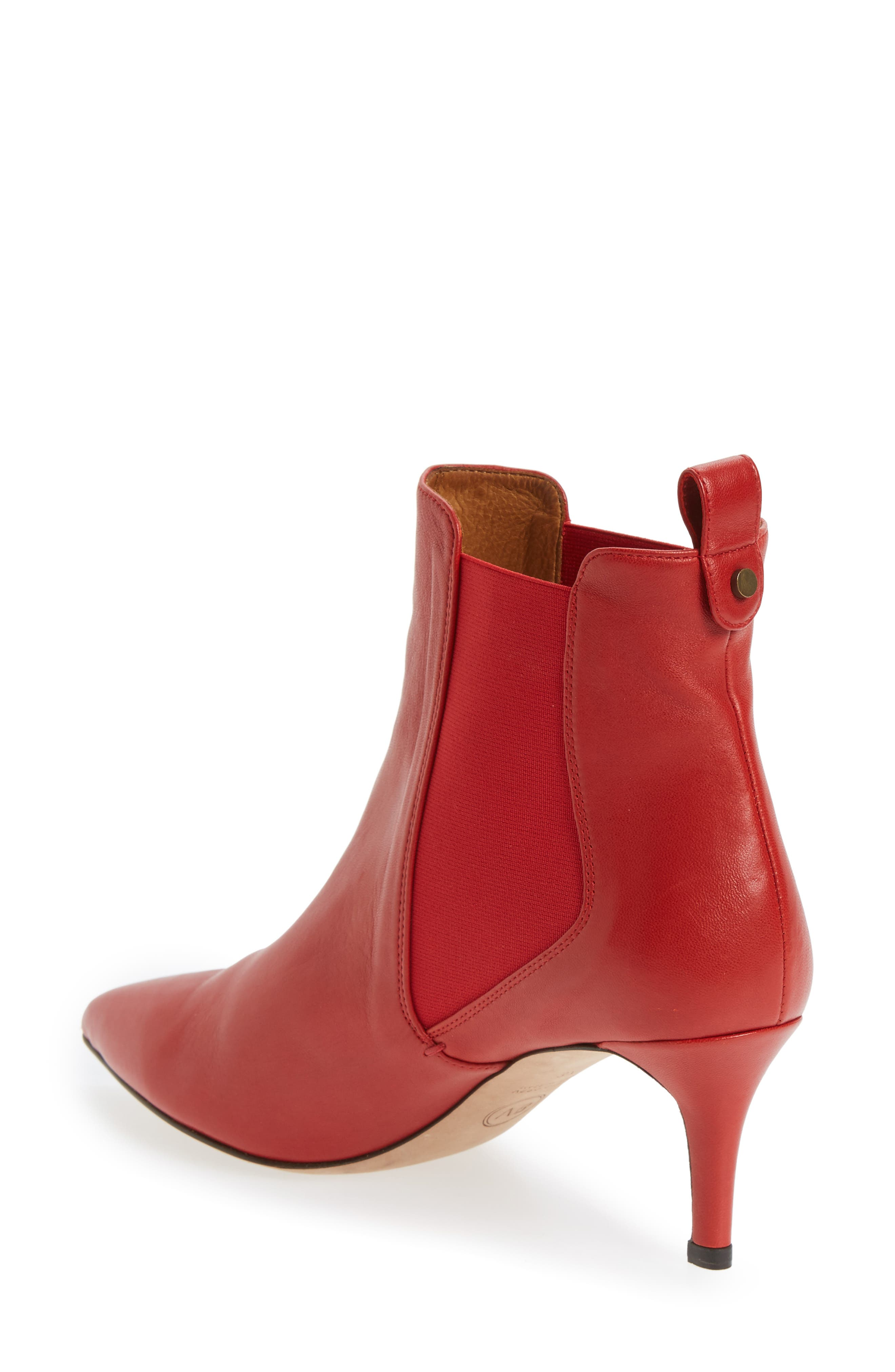 Alternate Image 2  - Veronica Beard Parker Pointy Toe Chelsea Bootie (Women)