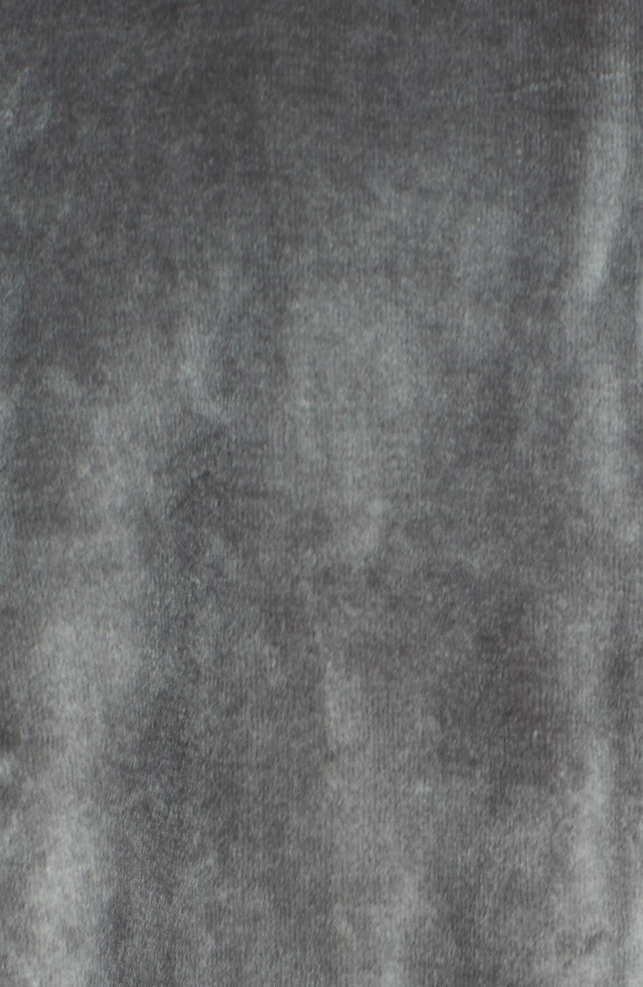 Alternate Image 5  - Zella Street to Studio Velour Bomber Jacket