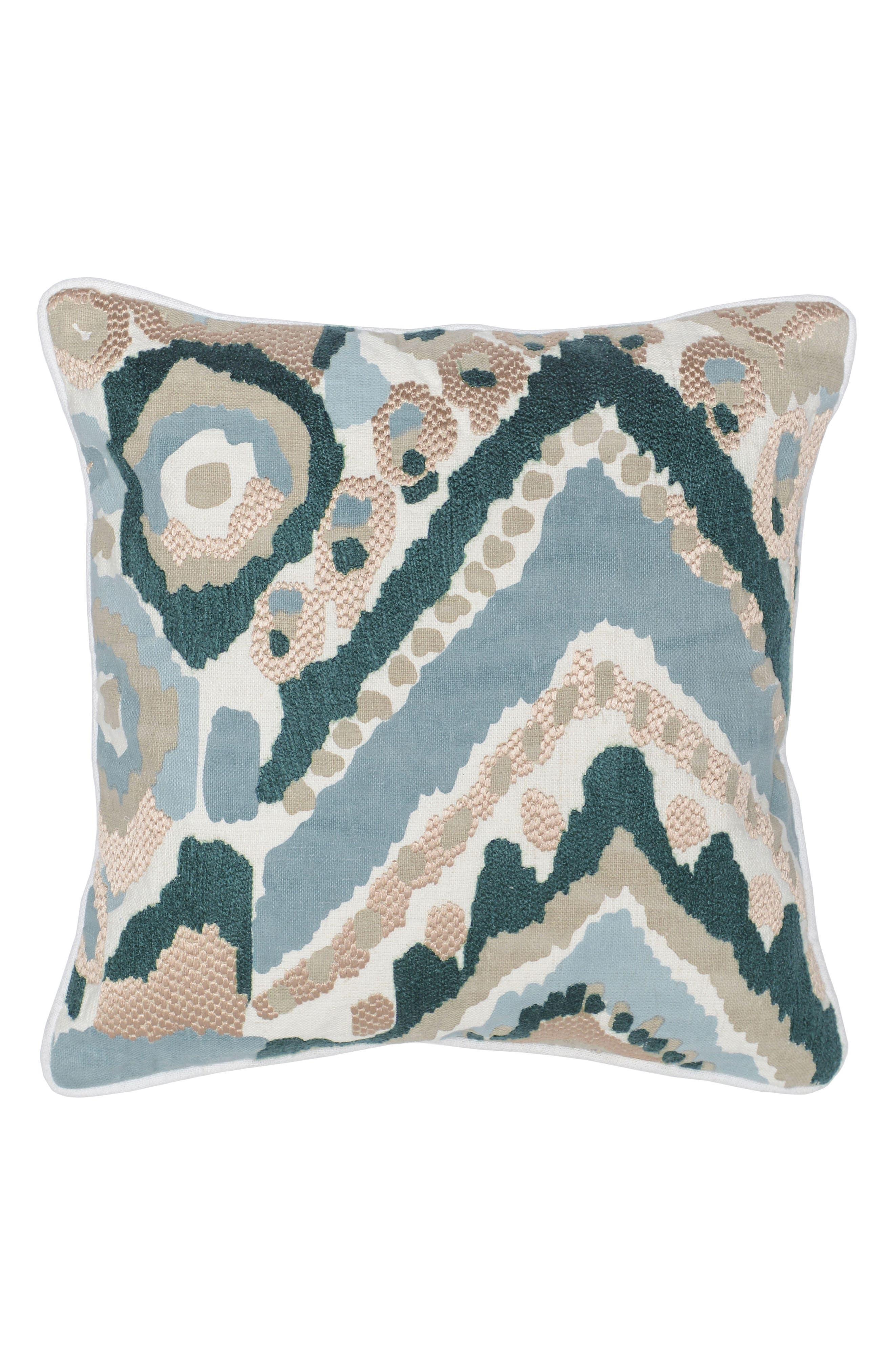Cece Accent Pillow,                         Main,                         color, Blue/ Teal