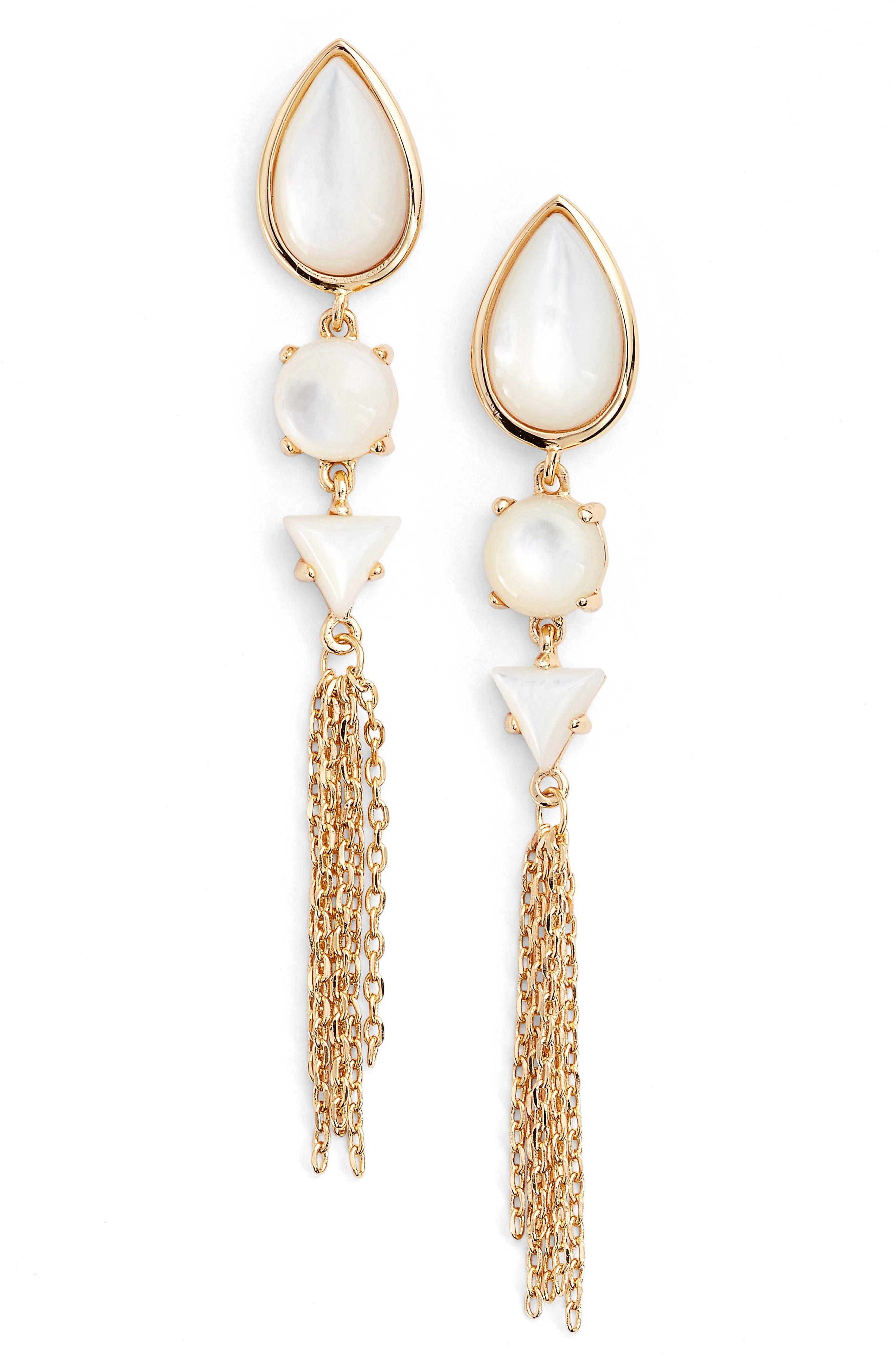 Alternate Image 1 Selected - Jules Smith Dawson Crystal Drop Earrings