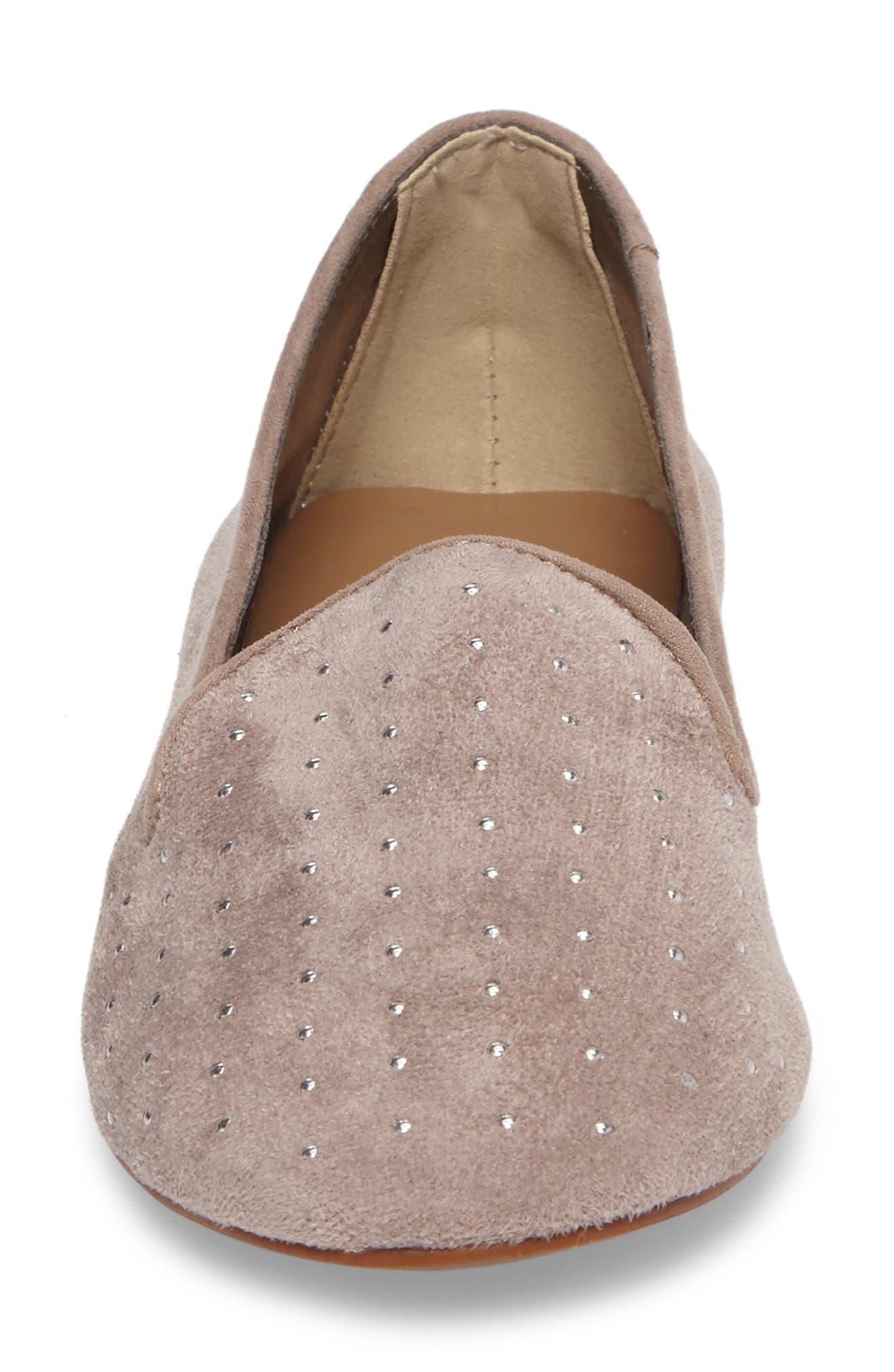 Alternate Image 4  - Topshop Sophie Studded Slip-On Loafers