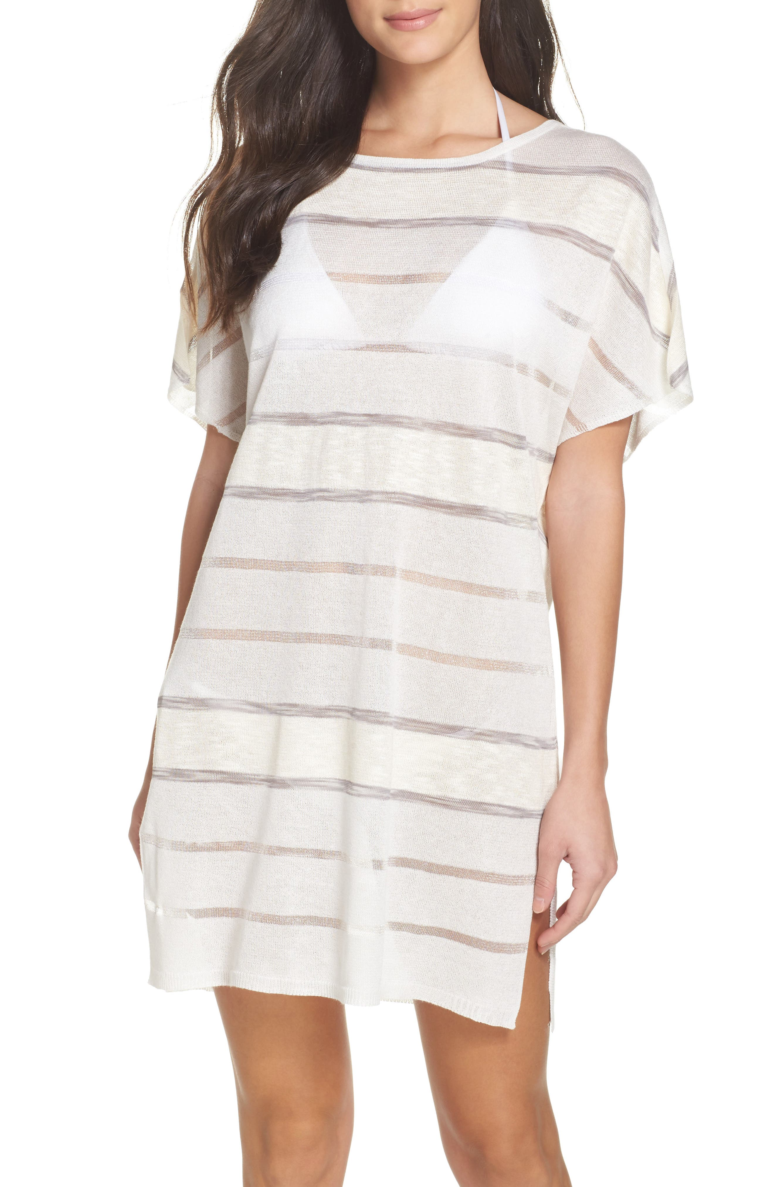 Bay Breeze Cover-Up Tunic,                         Main,                         color, White