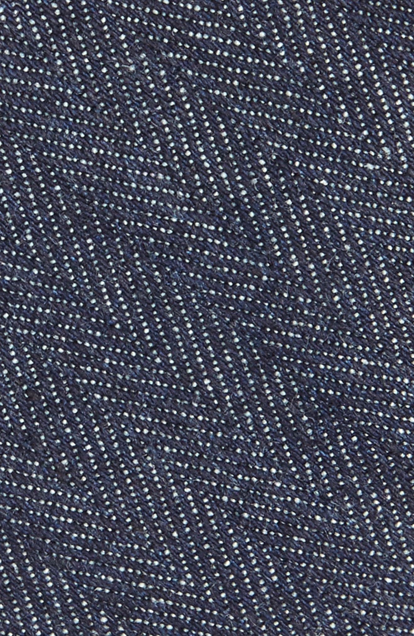 Alternate Image 2  - 1901 Thames Solid Skinny Tie