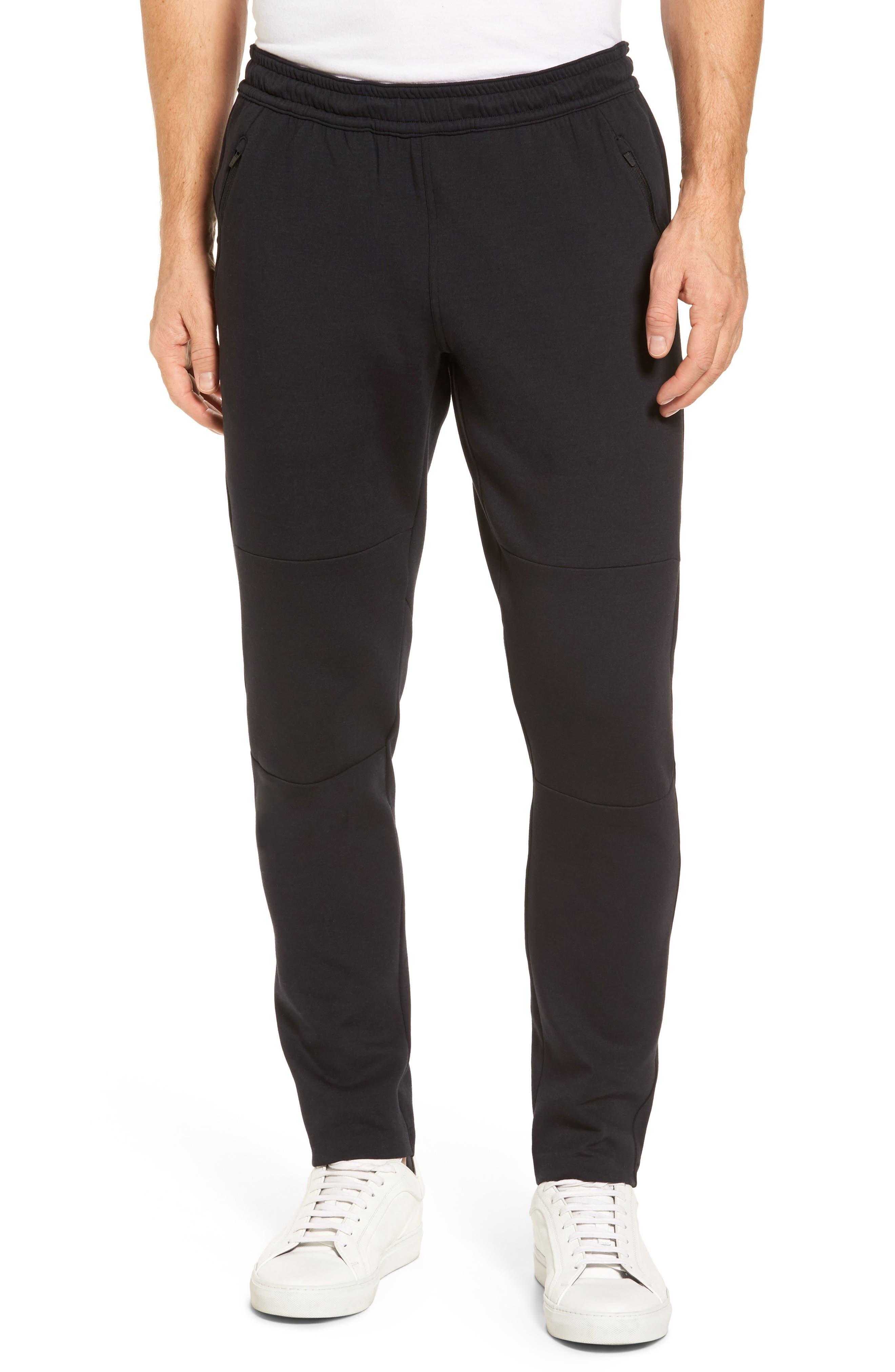 Tech Interlock Knit Pant,                         Main,                         color, Black