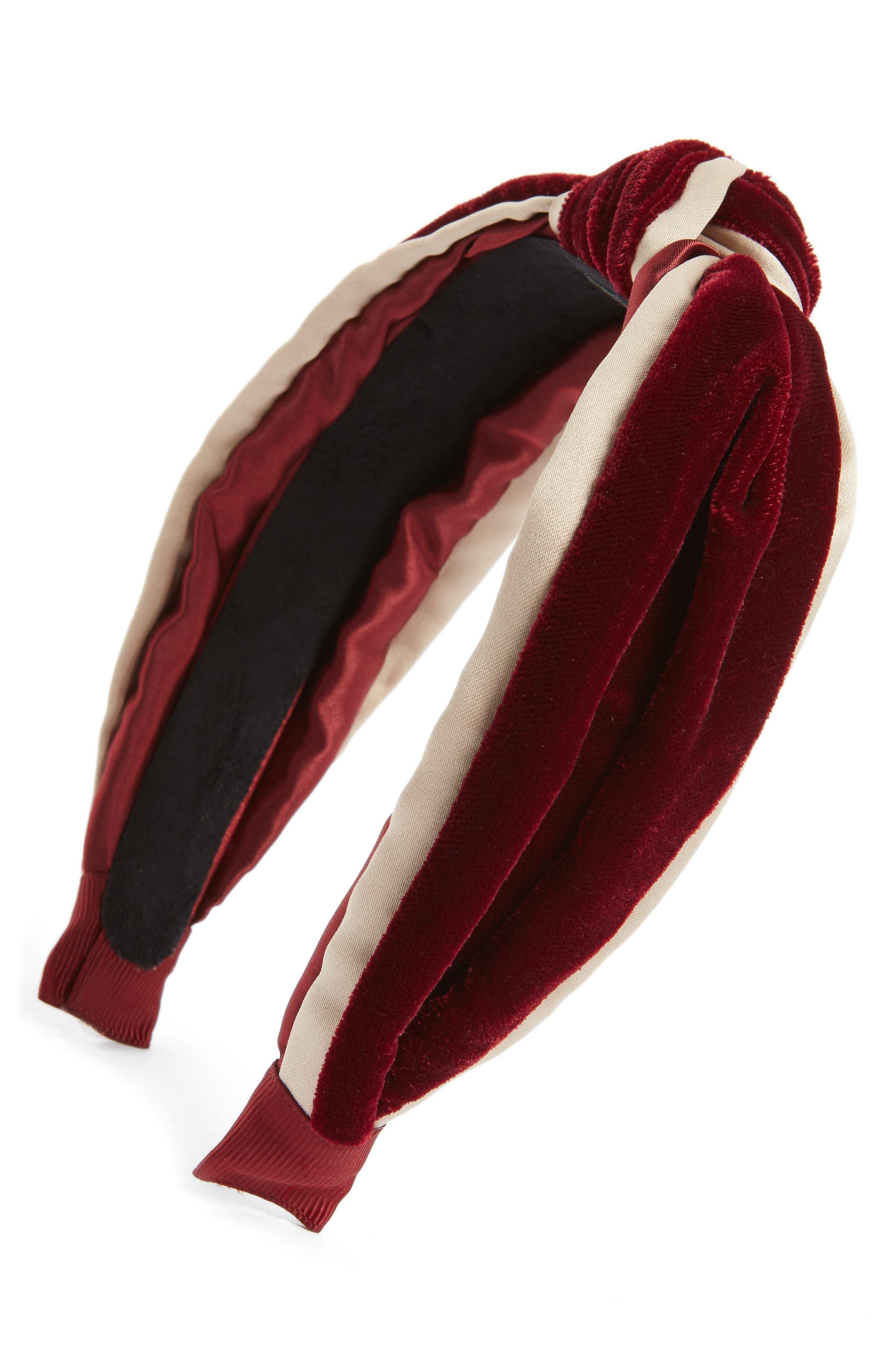 Tasha Velvet Knot Headband