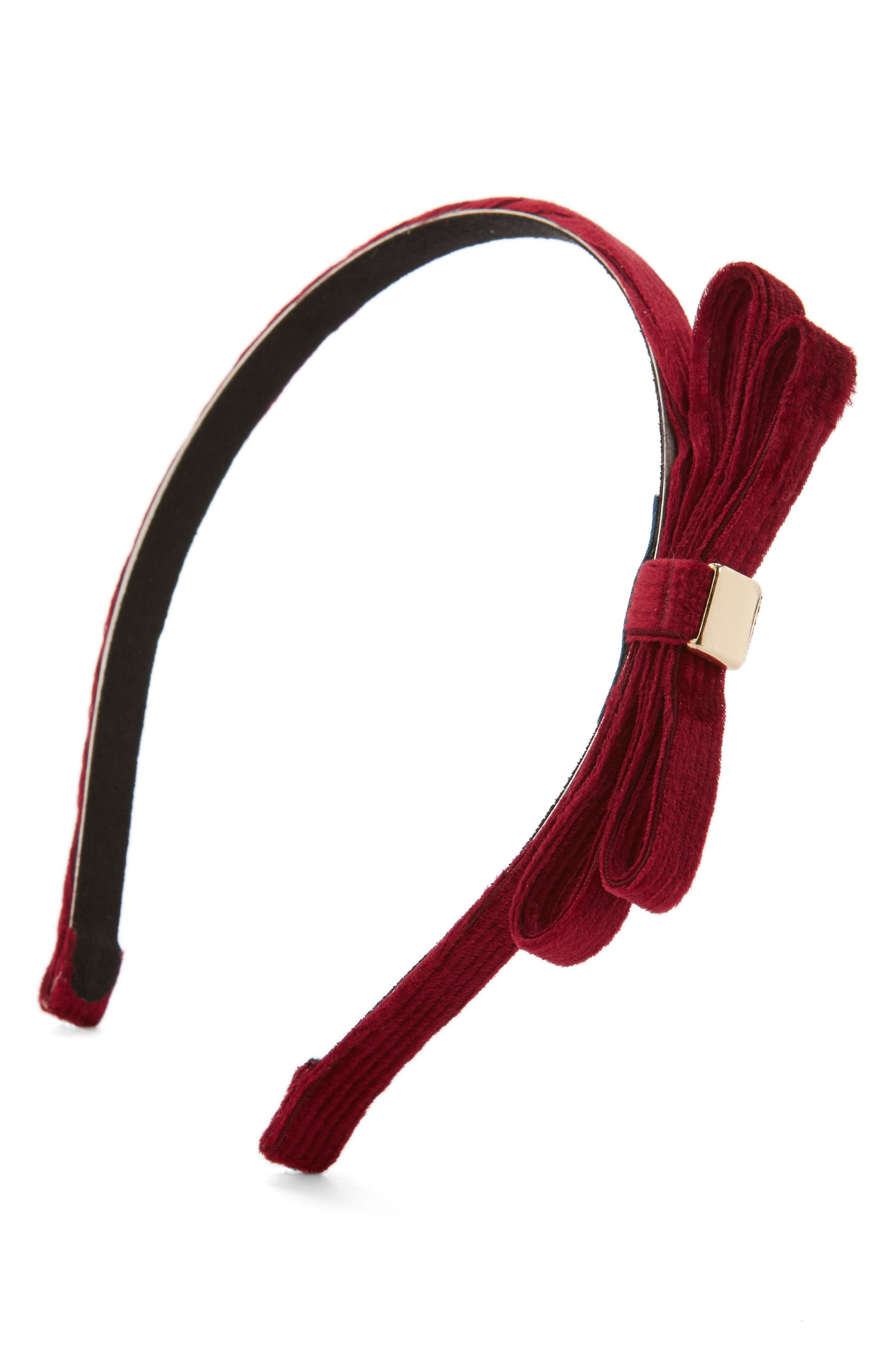 Tasha Velvet Bow Headband