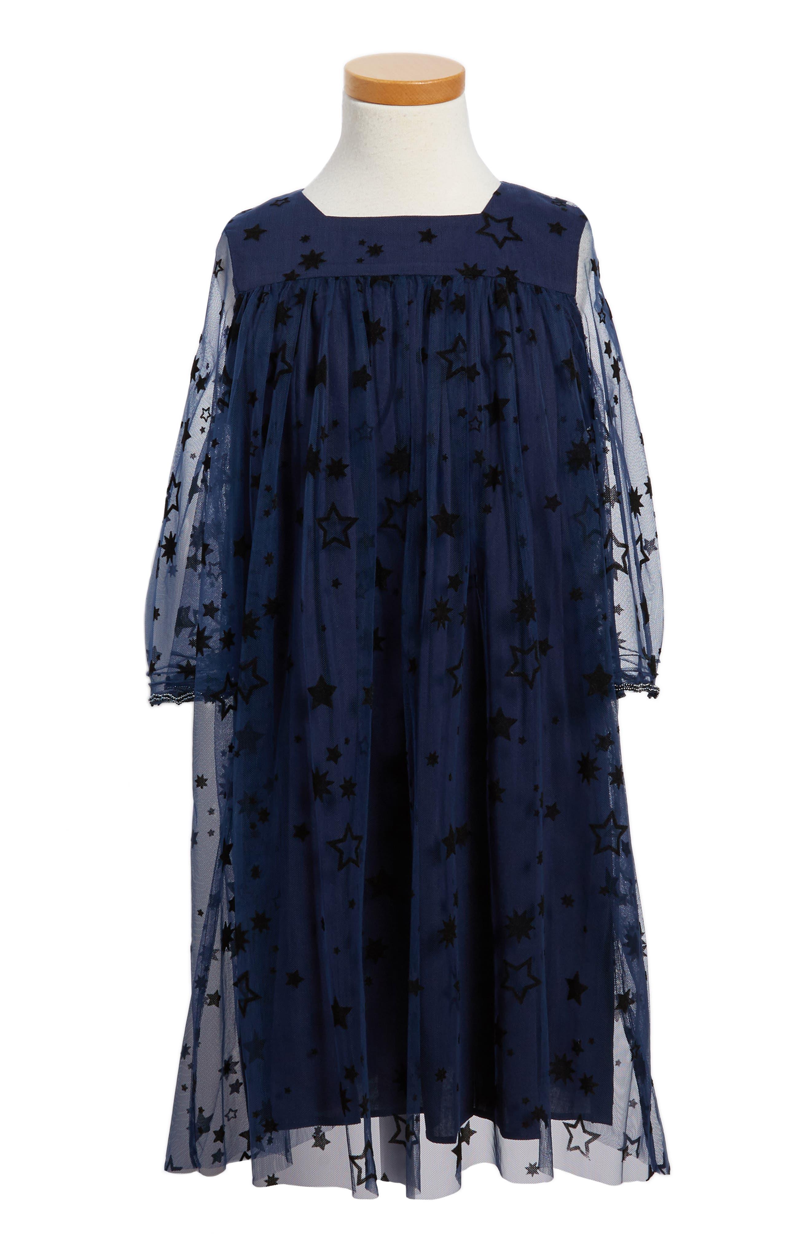 Wild & Gorgeous Zodiac Dress (Toddler Girls, Little Girls & Big Girls)