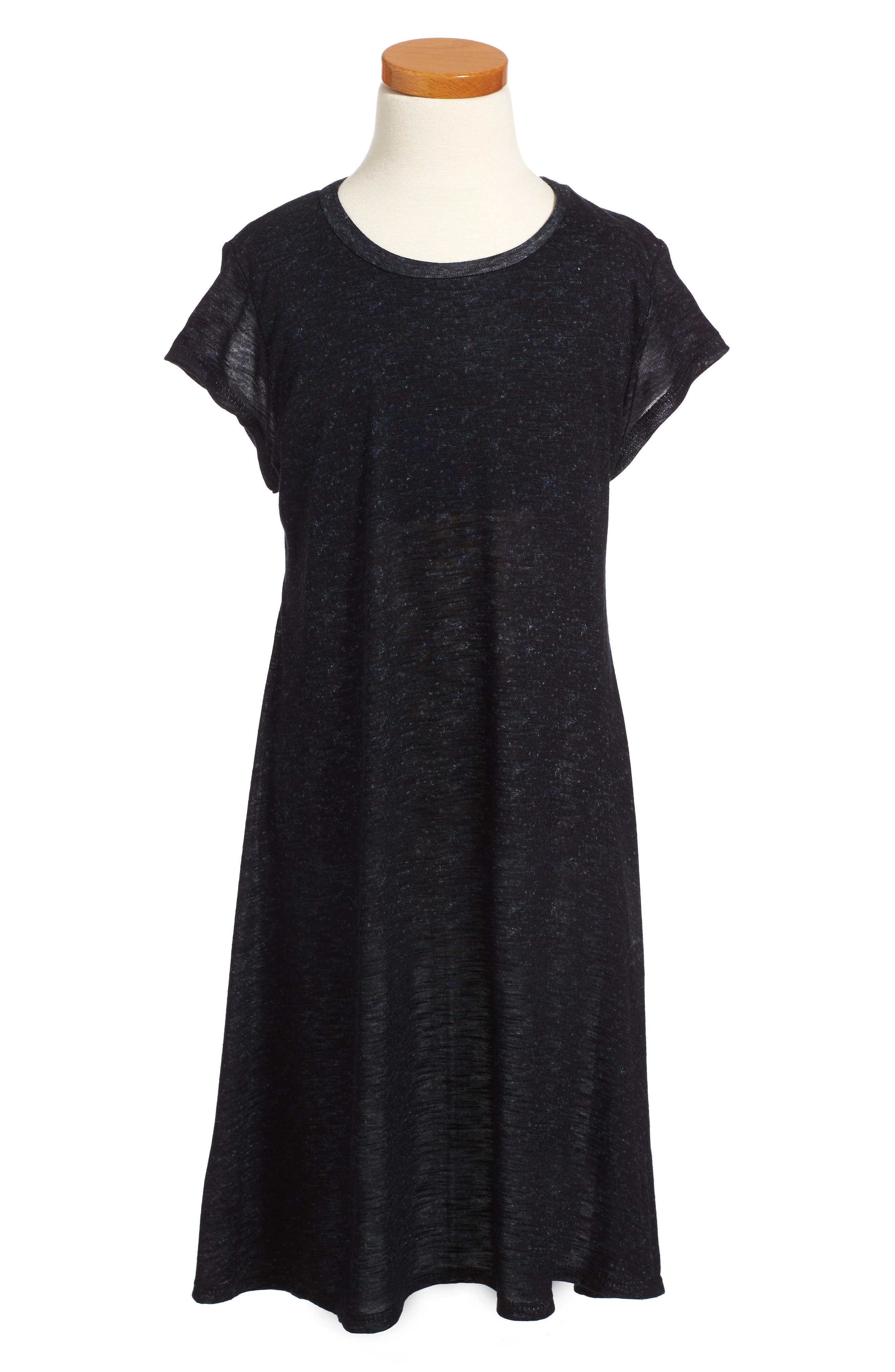 Dress,                             Main thumbnail 1, color,                             Black