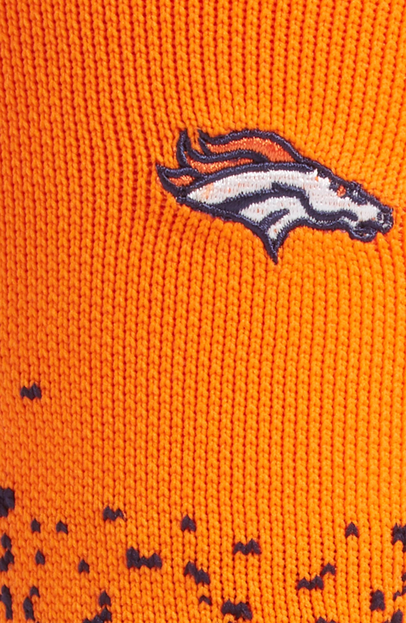 Denver Broncos - Fade Socks,                             Alternate thumbnail 2, color,                             Navy