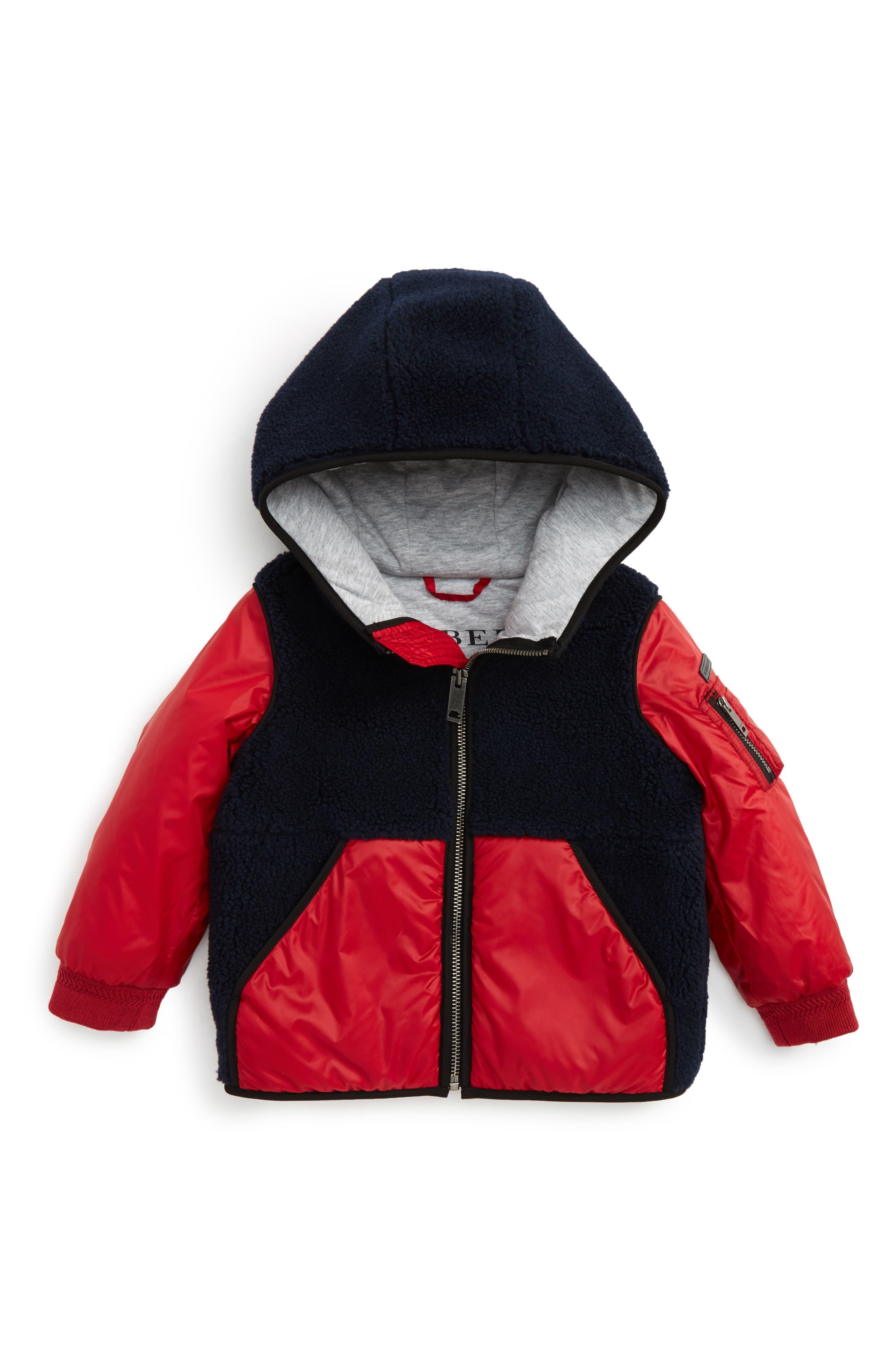 Burberry Kasper Mixed Media Jacket (Baby Boys & Toddler Boys)