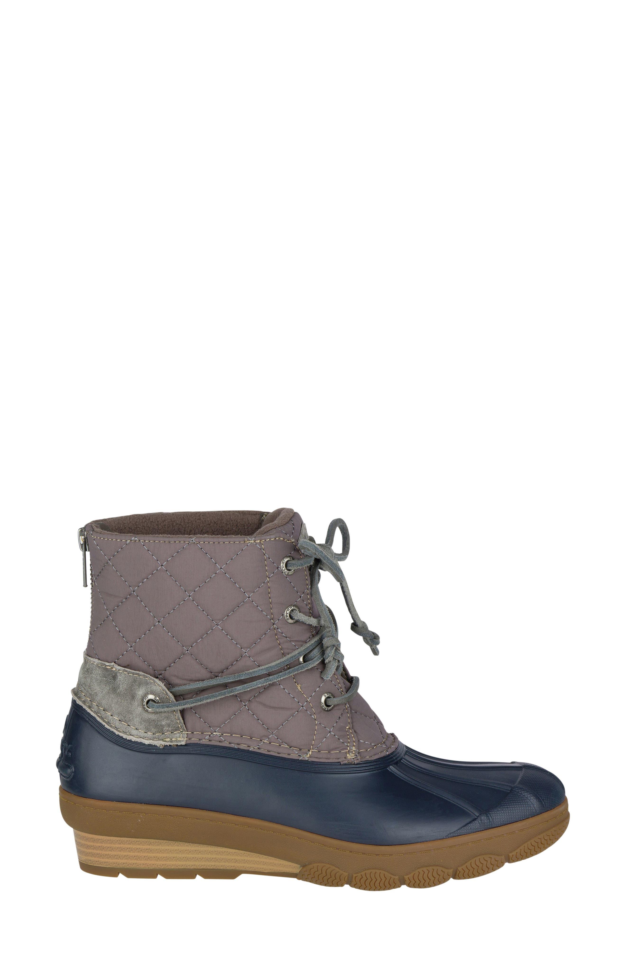 Alternate Image 4  - Sperry Saltwater Quilted Watperproof Boot (Women)