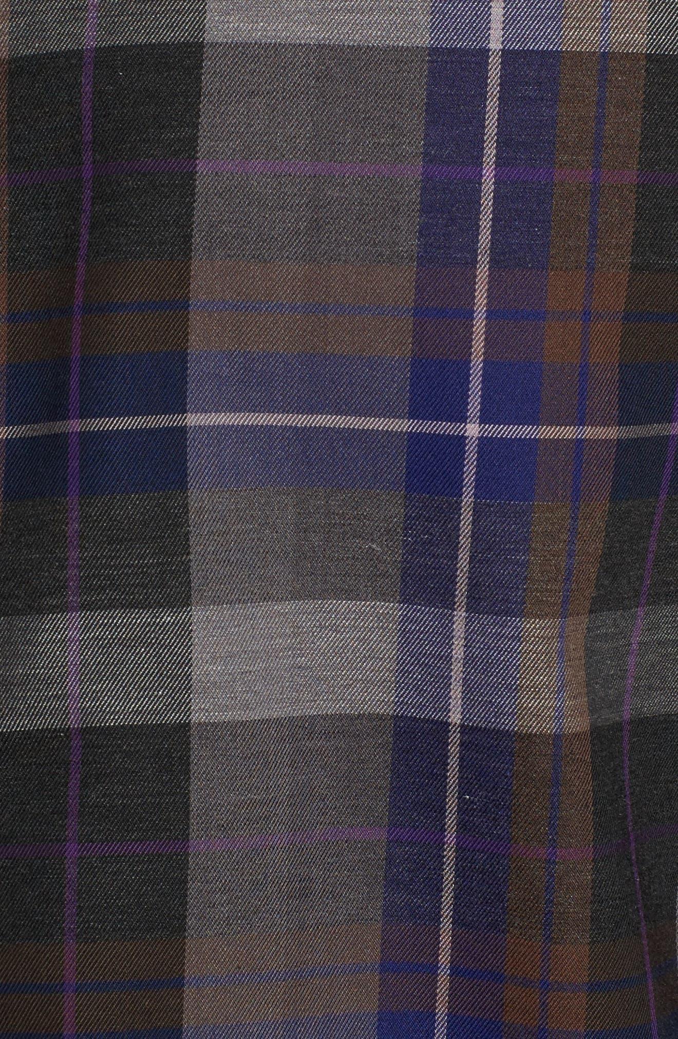 Alternate Image 5  - TailorByrd Cullen Plaid Twill Sport Shirt