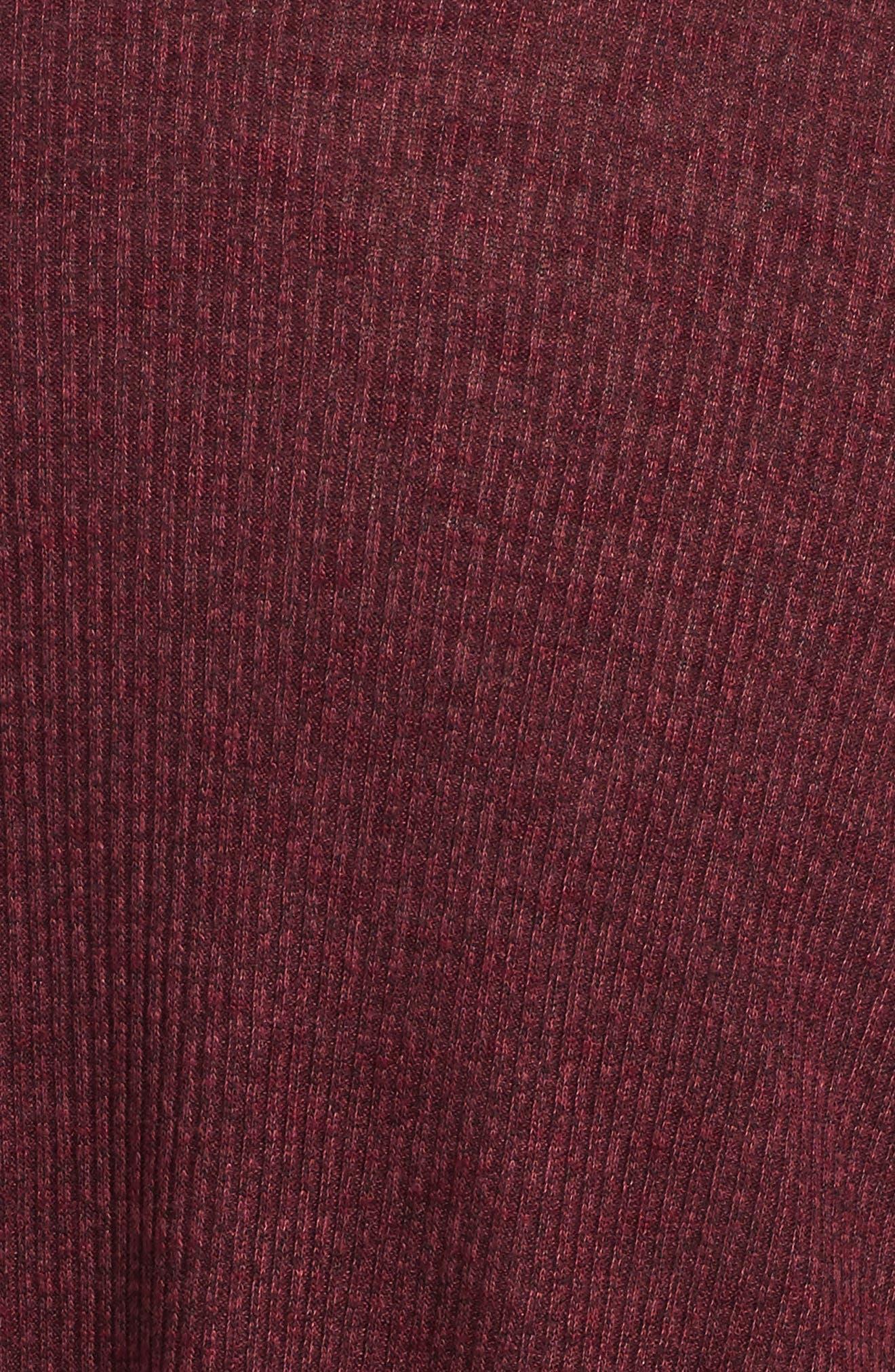 Alternate Image 3  - Soprano Rib Knit Sweater Dress (Big Girls)