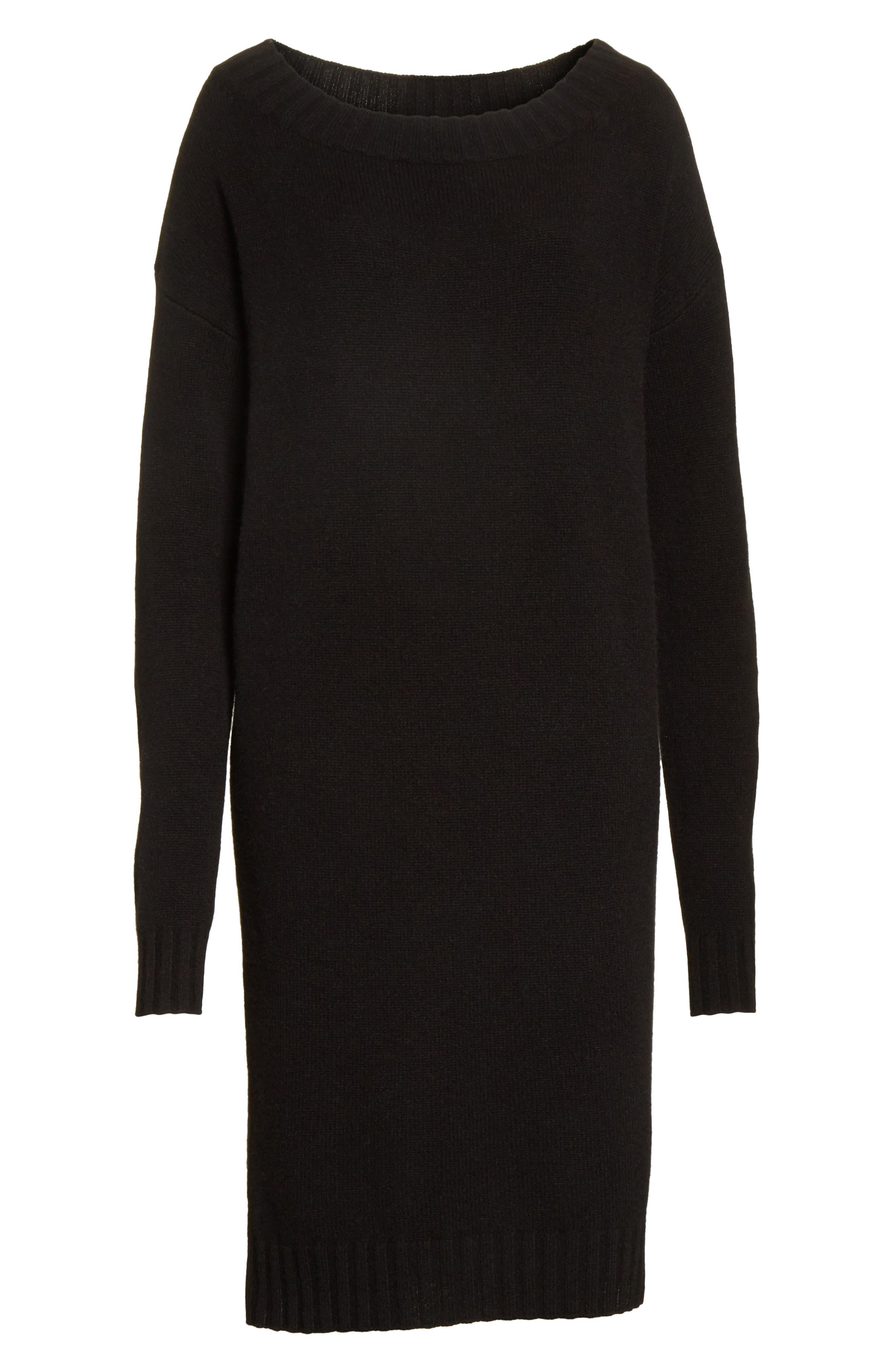 Alternate Image 6  - Vince Off the Shoulder Wool & Cashmere Sweater Dress