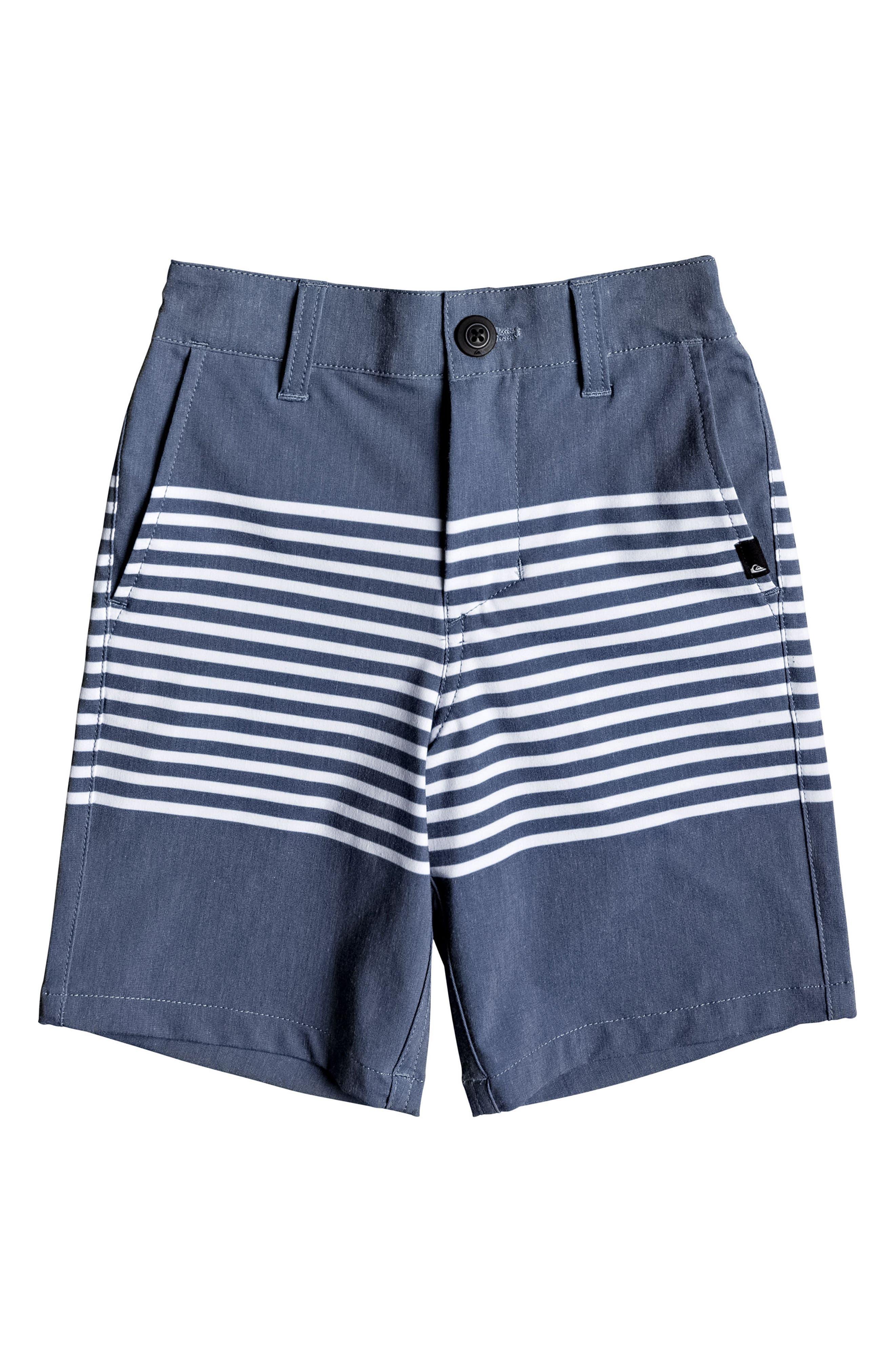 Echo Stripe Amphibian Board Shorts,                             Main thumbnail 1, color,                             Estate Blue