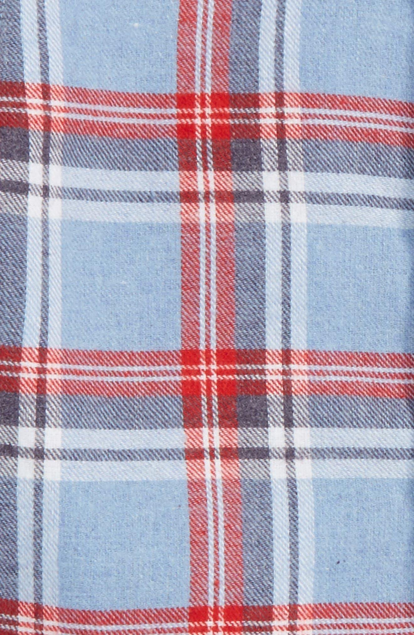 Alternate Image 2  - Andy & Evan Plaid Flannel Shirt (Toddler Boys & Little Boys)