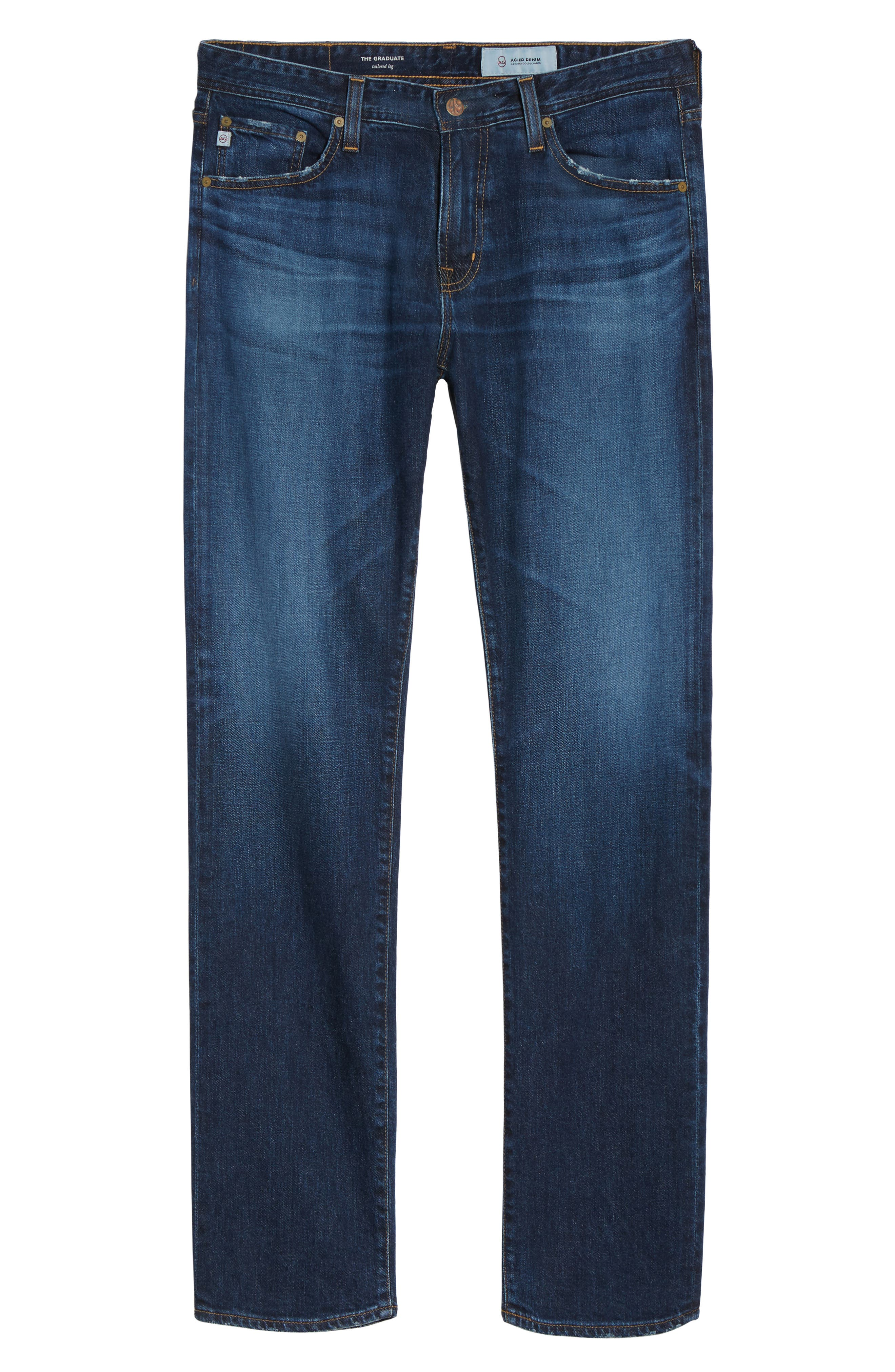 Alternate Image 6  - AG Graduate Slim Straight Leg Jeans (9 Years Aflame)