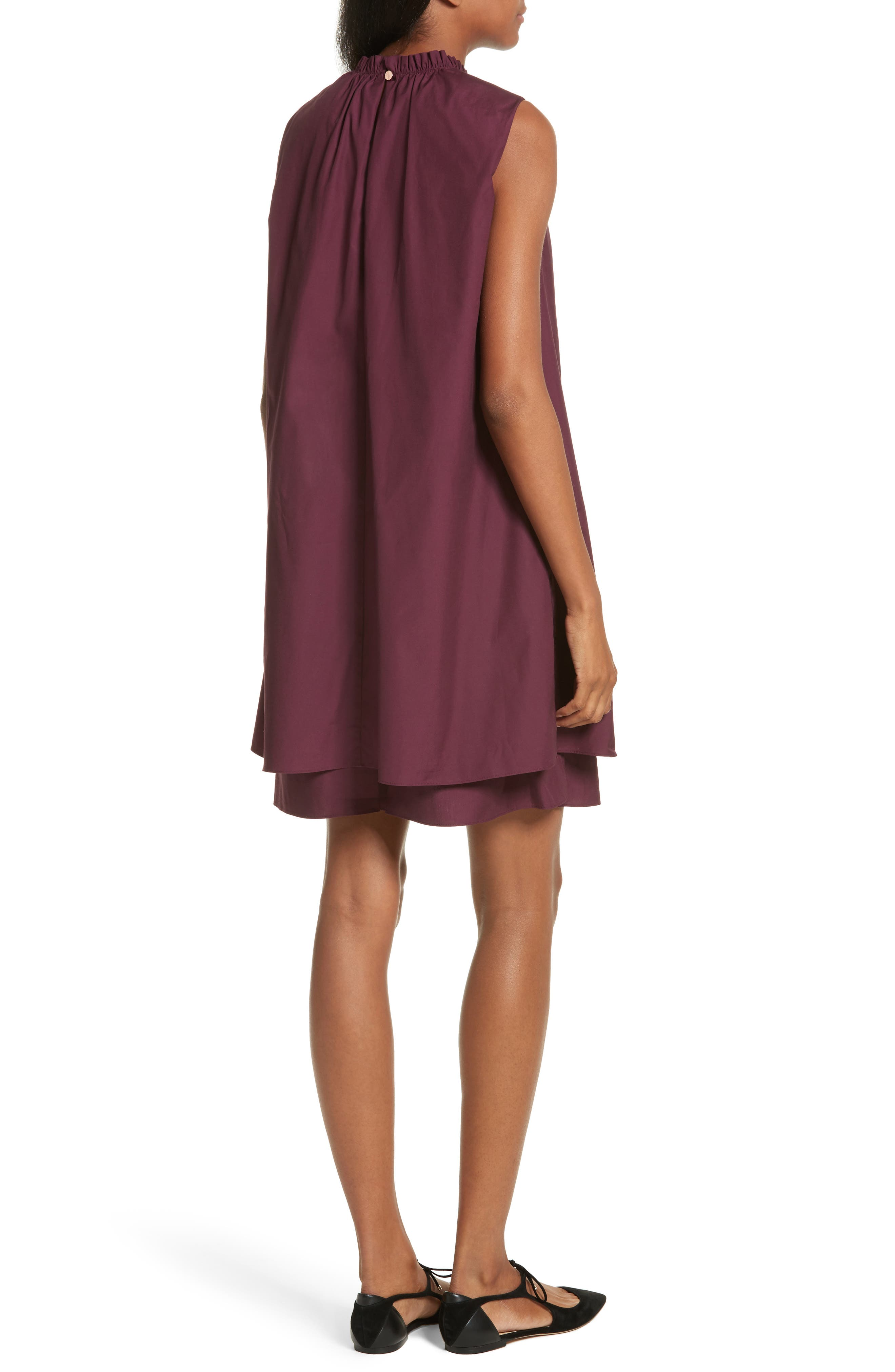 Alternate Image 2  - Ted Baker London Ezmay Tiered Shift Dress